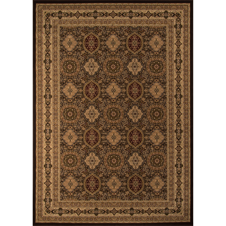 Momeni royal brown area rug wayfair for Momeni rugs
