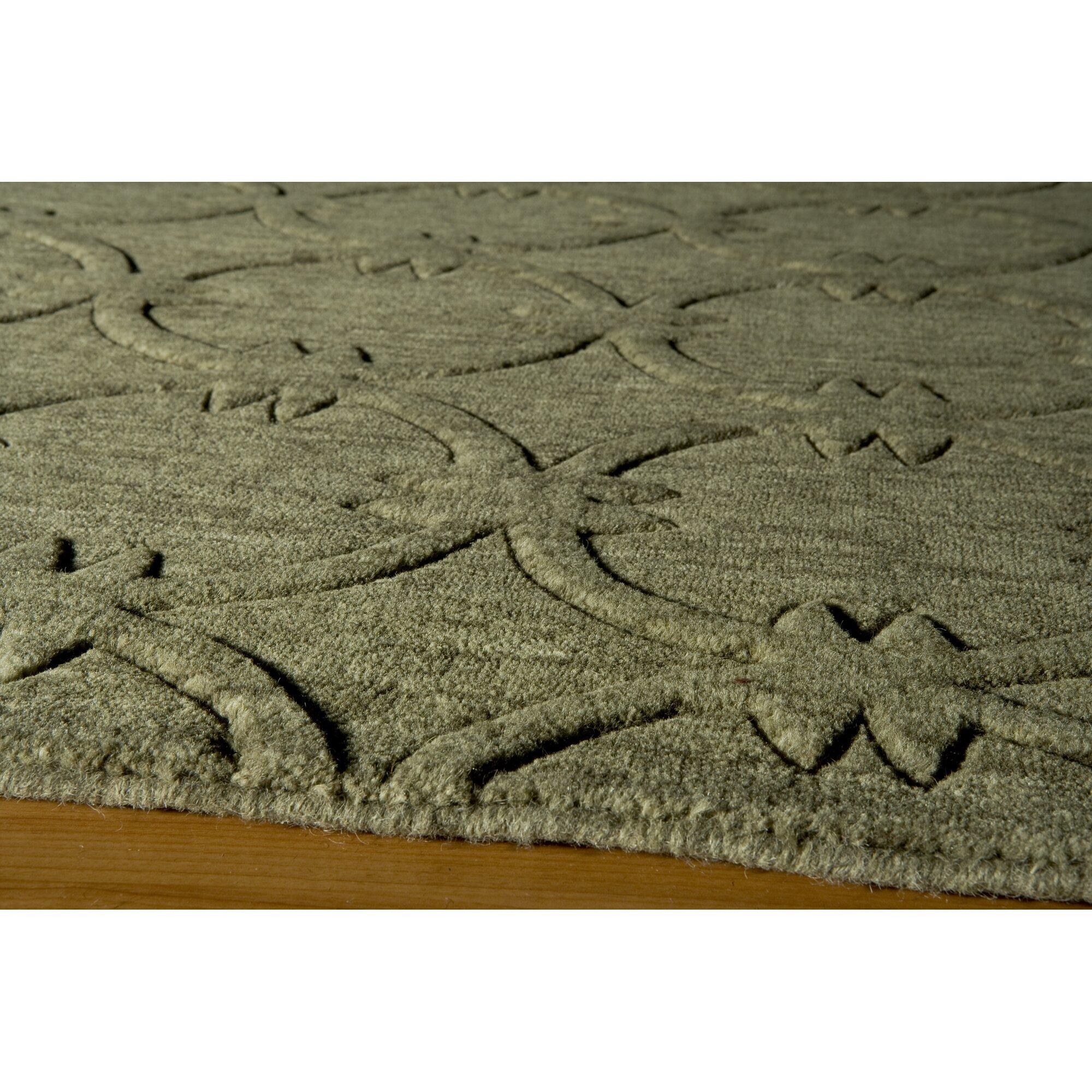 Momeni gramercy hand woven sage area rug reviews wayfair for Momeni rugs