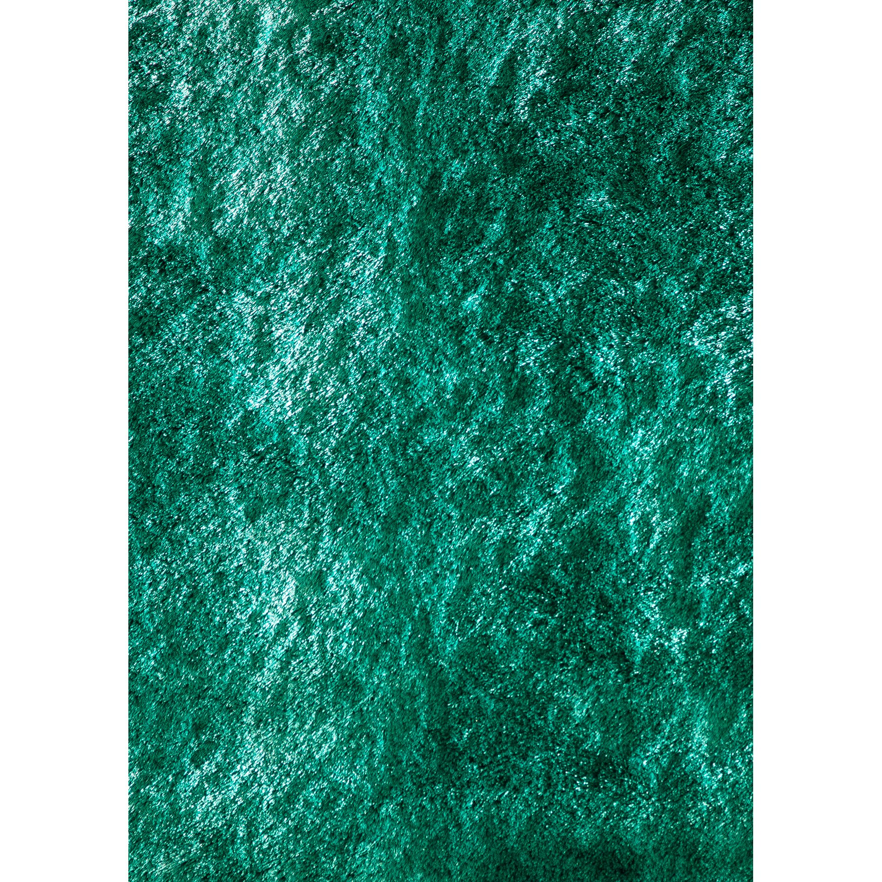 Momeni Lustre Shag Hand-Knotted Teal Area Rug & Reviews