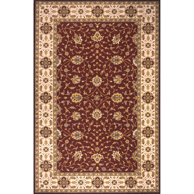 Momeni persian garden burgundy area rug reviews wayfair for Momeni rugs