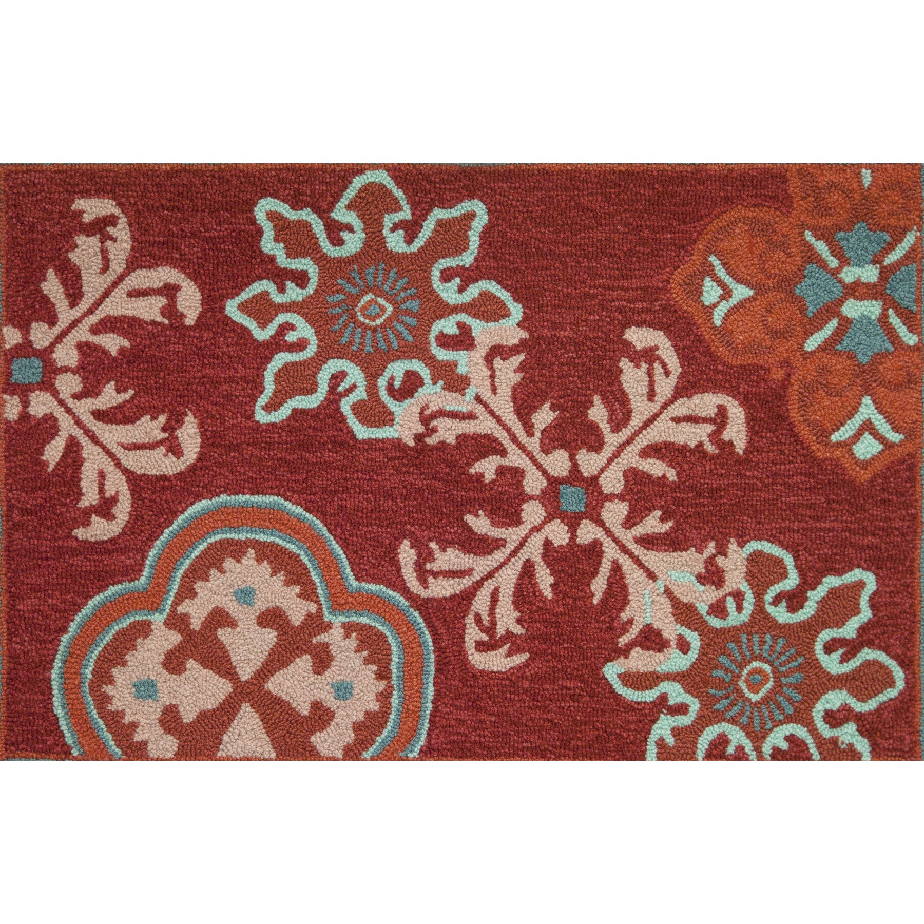 homefires crimson stamps rug wayfair