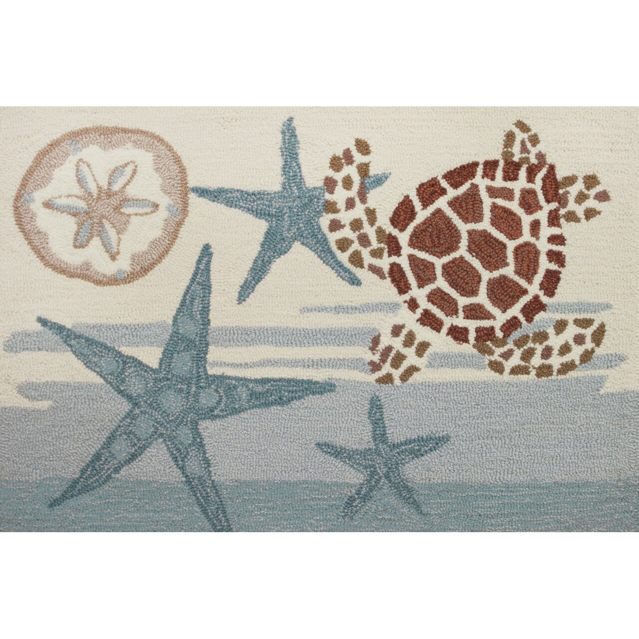 Homefires Coastal Turtle Rug & Reviews