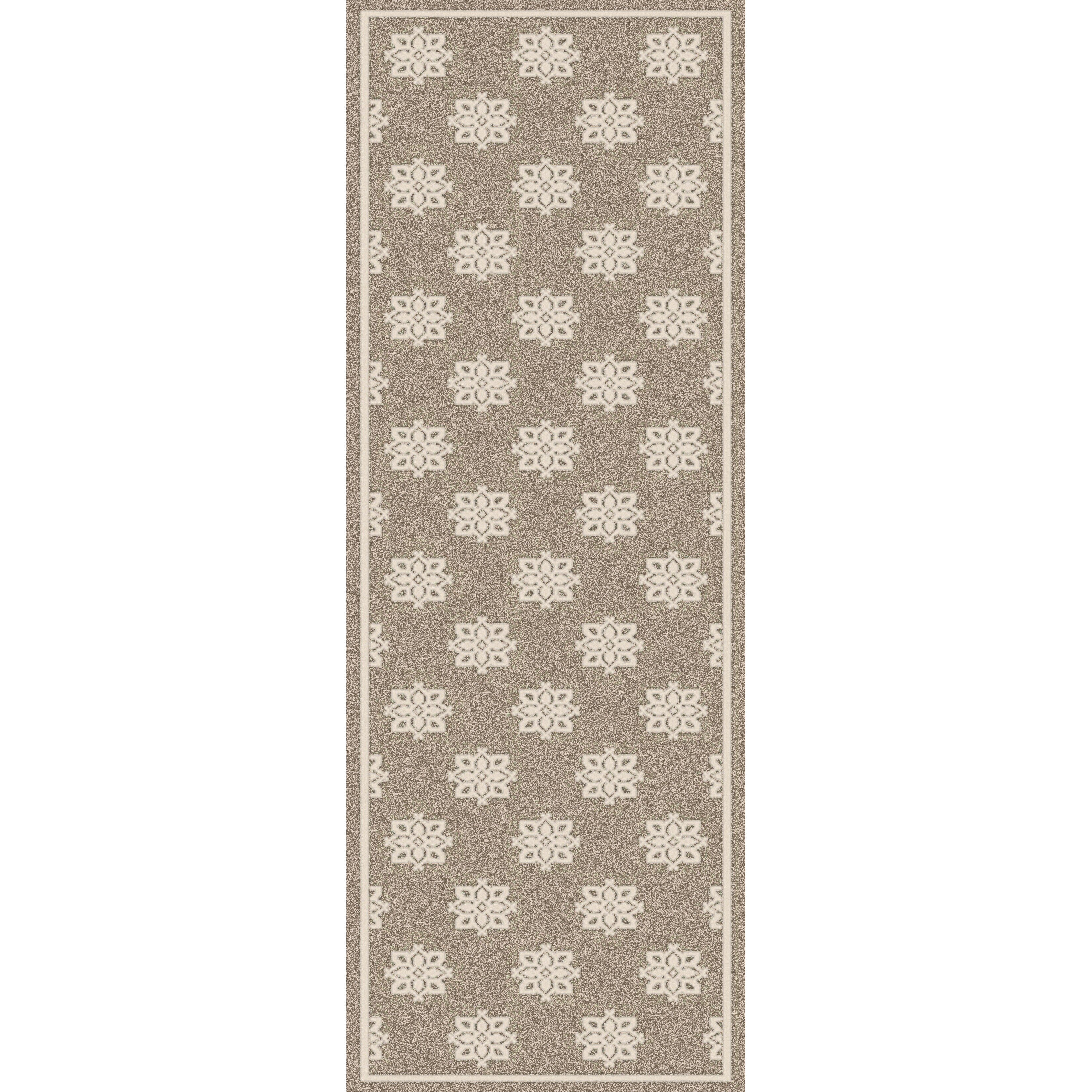 Damask Taupe Rug: Surya Alfresco Beige/Taupe Damask Area Rug & Reviews