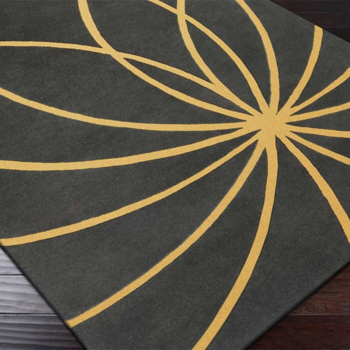 Surya Forum Old Gold/Iron Ore Area Rug & Reviews
