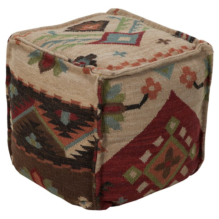 Surya Pouf Cube Ottoman Reviews