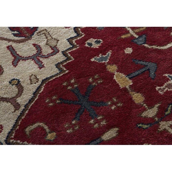 Surya Ancient Treasures Beige/Ruby Area Rug & Reviews
