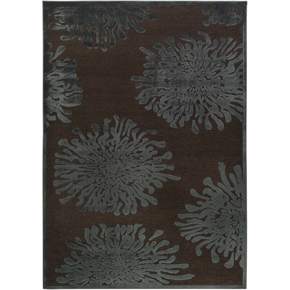 Surya Basilica Mushroom/Teal Area Rug & Reviews