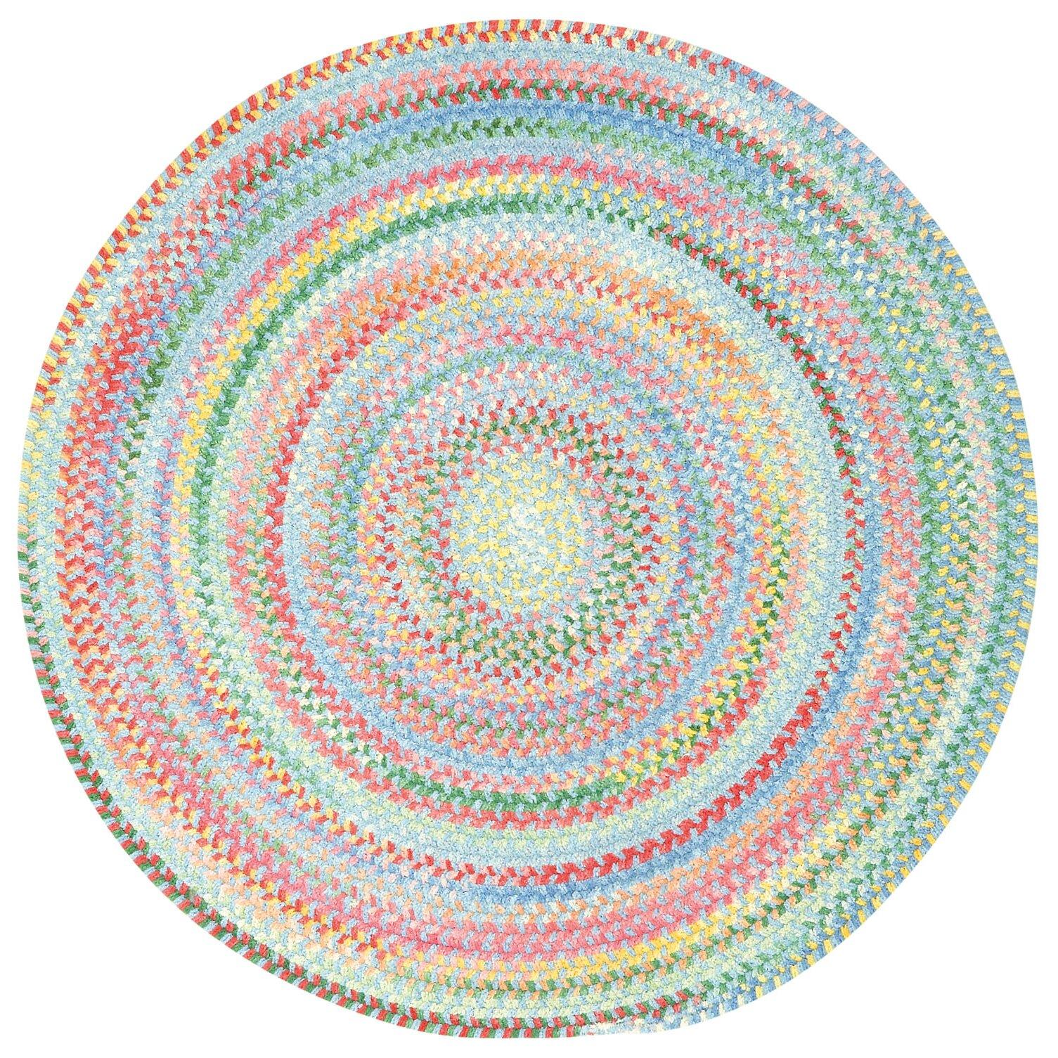 capel baby 39 s breath pink blue area rug reviews wayfair. Black Bedroom Furniture Sets. Home Design Ideas