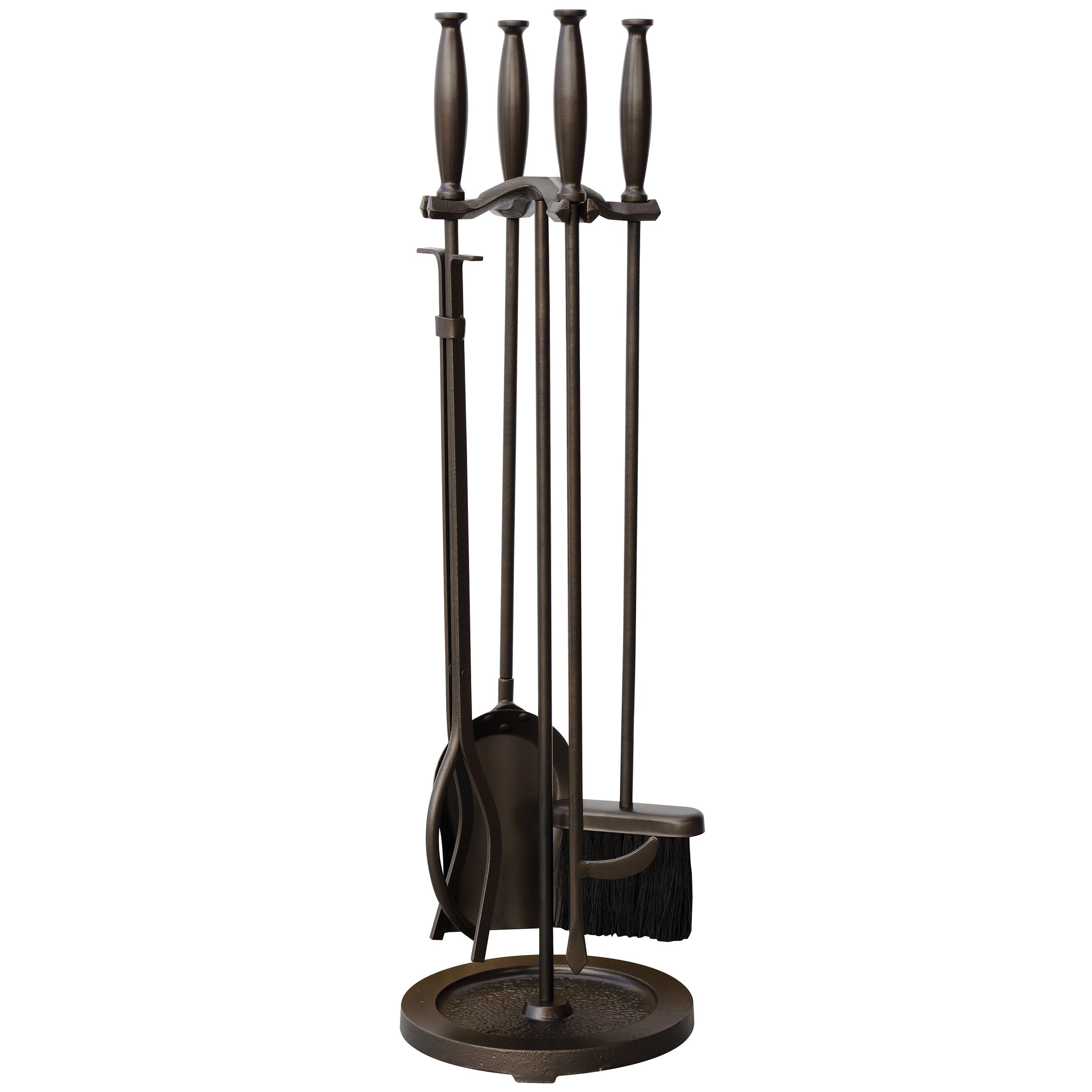 Uniflame 5 Piece Fireplace Tool Set & Reviews