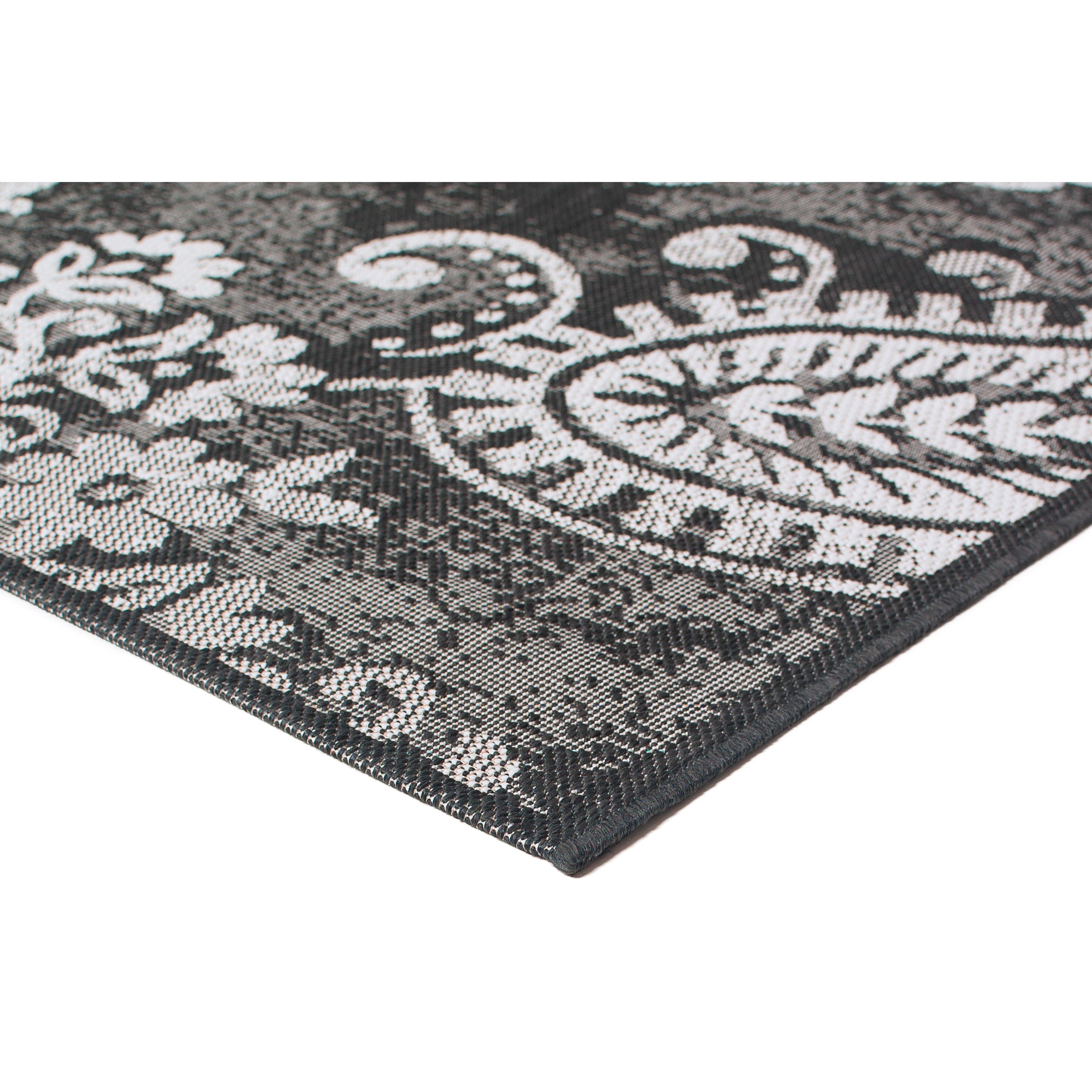 Balta bradford dark gray indoor outdoor area rug reviews for Landscape indoor area rug