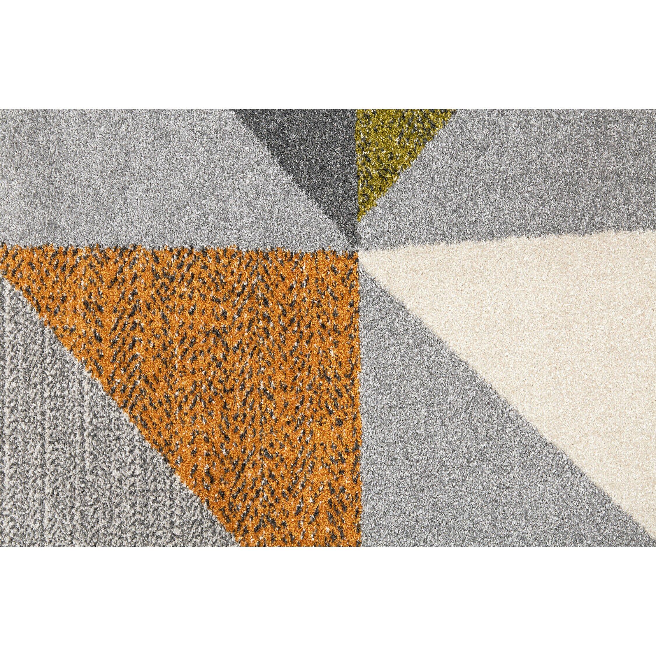 balta orleans gray yellow area rug wayfair. Black Bedroom Furniture Sets. Home Design Ideas