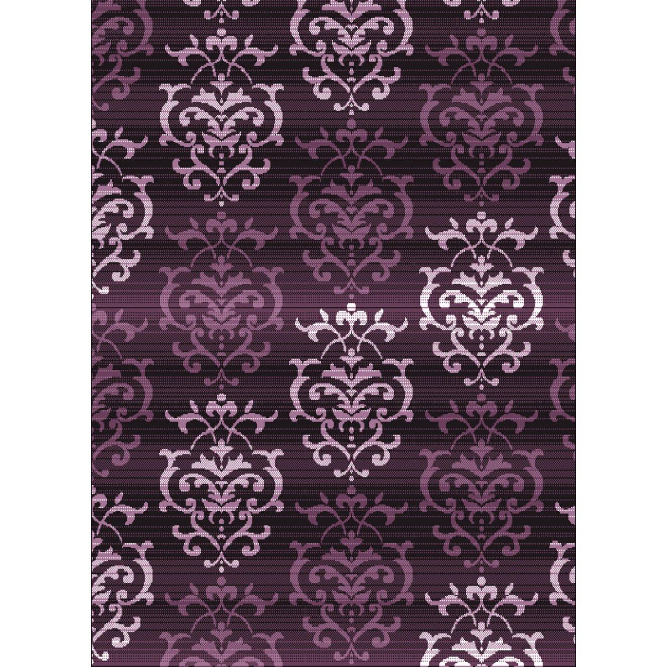 Xl Purple Rug: United Weavers Of America Dallas Countess Plum Area Rug