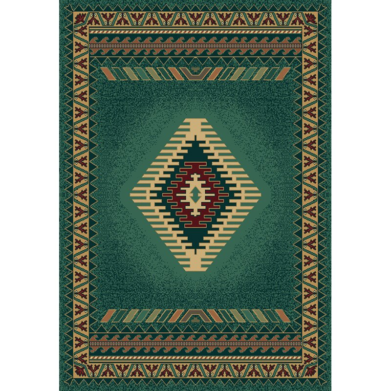 United Weavers Of America Manhattan Tucson Green Area Rug