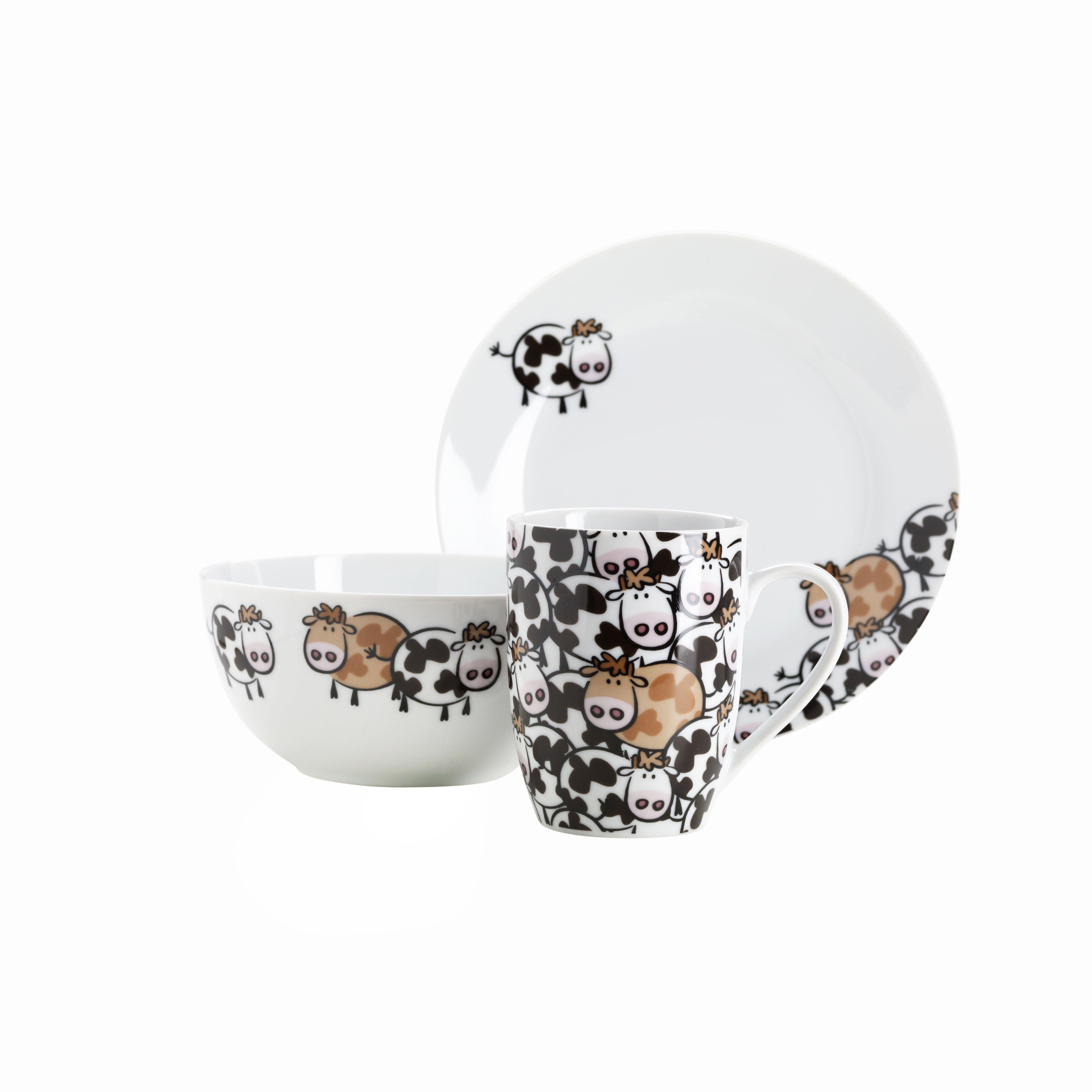 josef m ser gmbh 3 tlg fr hst cksset brown cow. Black Bedroom Furniture Sets. Home Design Ideas