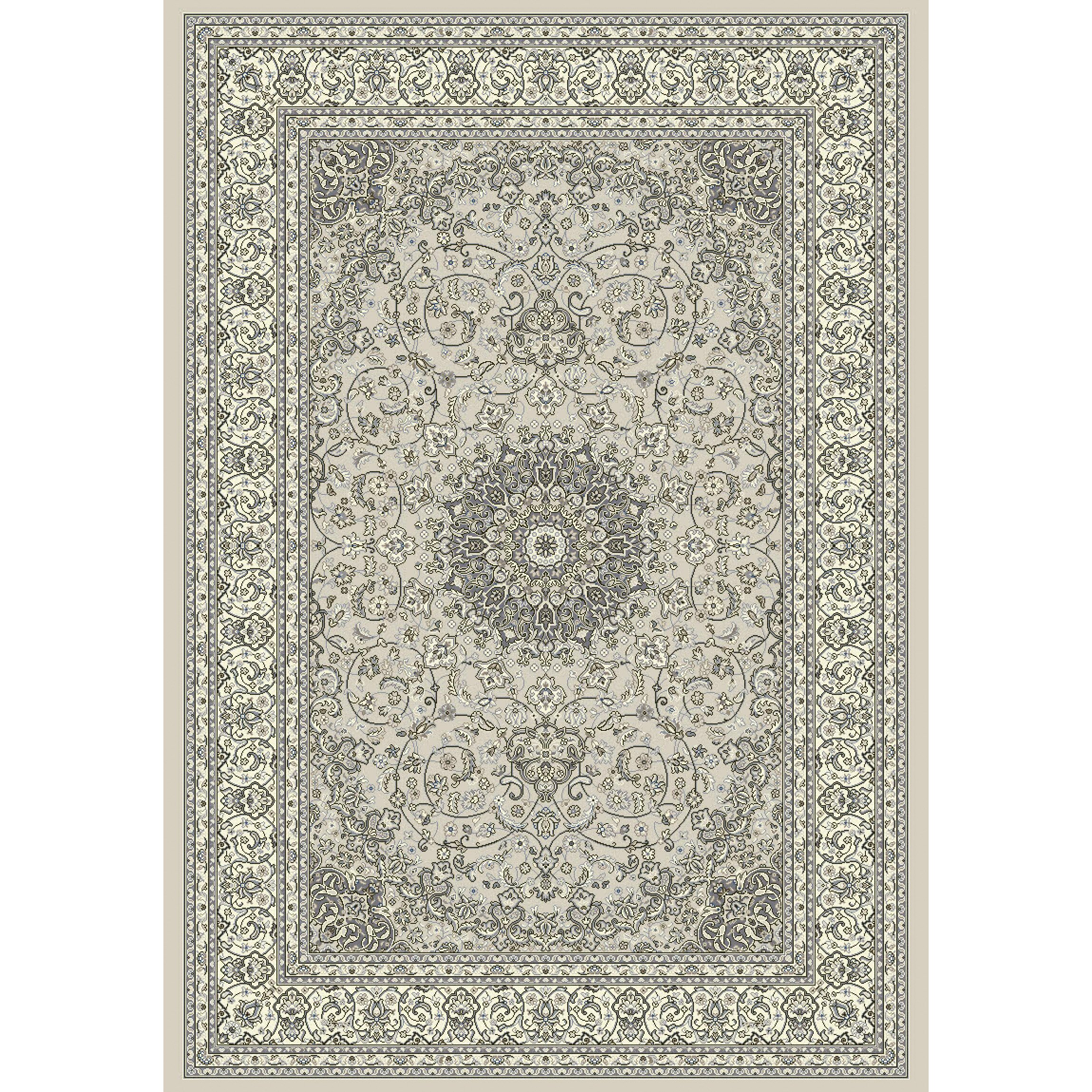 Dynamic rugs ancient garden soft gray cream area rug for Soft area rugs