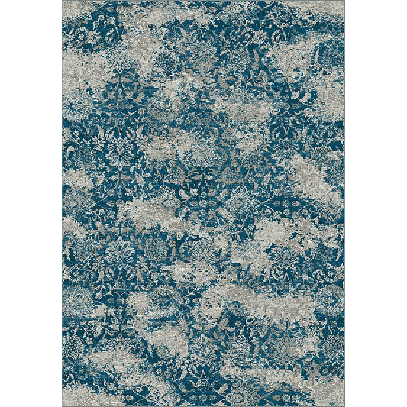 dynamic rugs regal gray blue area rug reviews wayfair. Black Bedroom Furniture Sets. Home Design Ideas