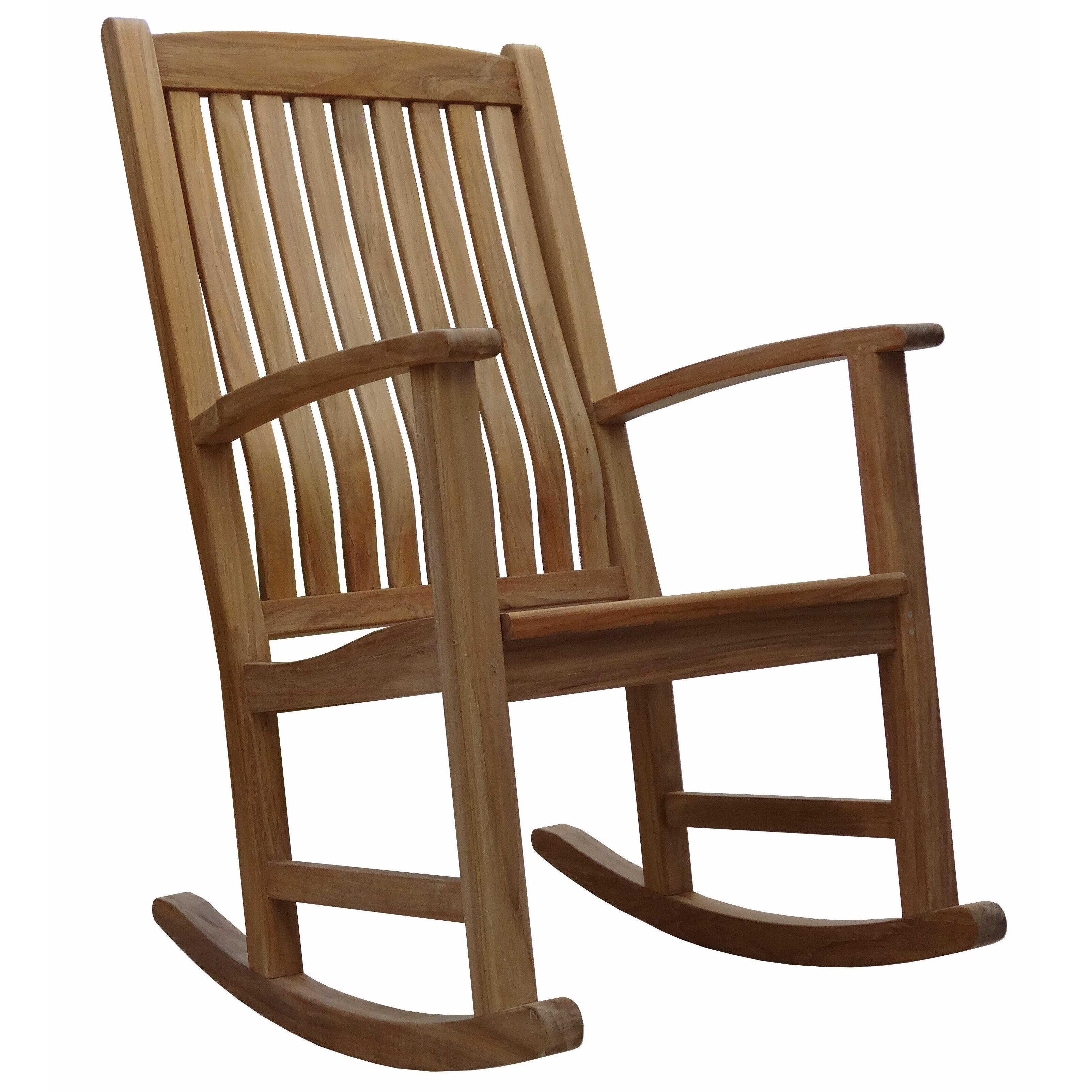 Outdoor Patio Furniture ... Wood Patio Rocking Chairs & Gliders ...