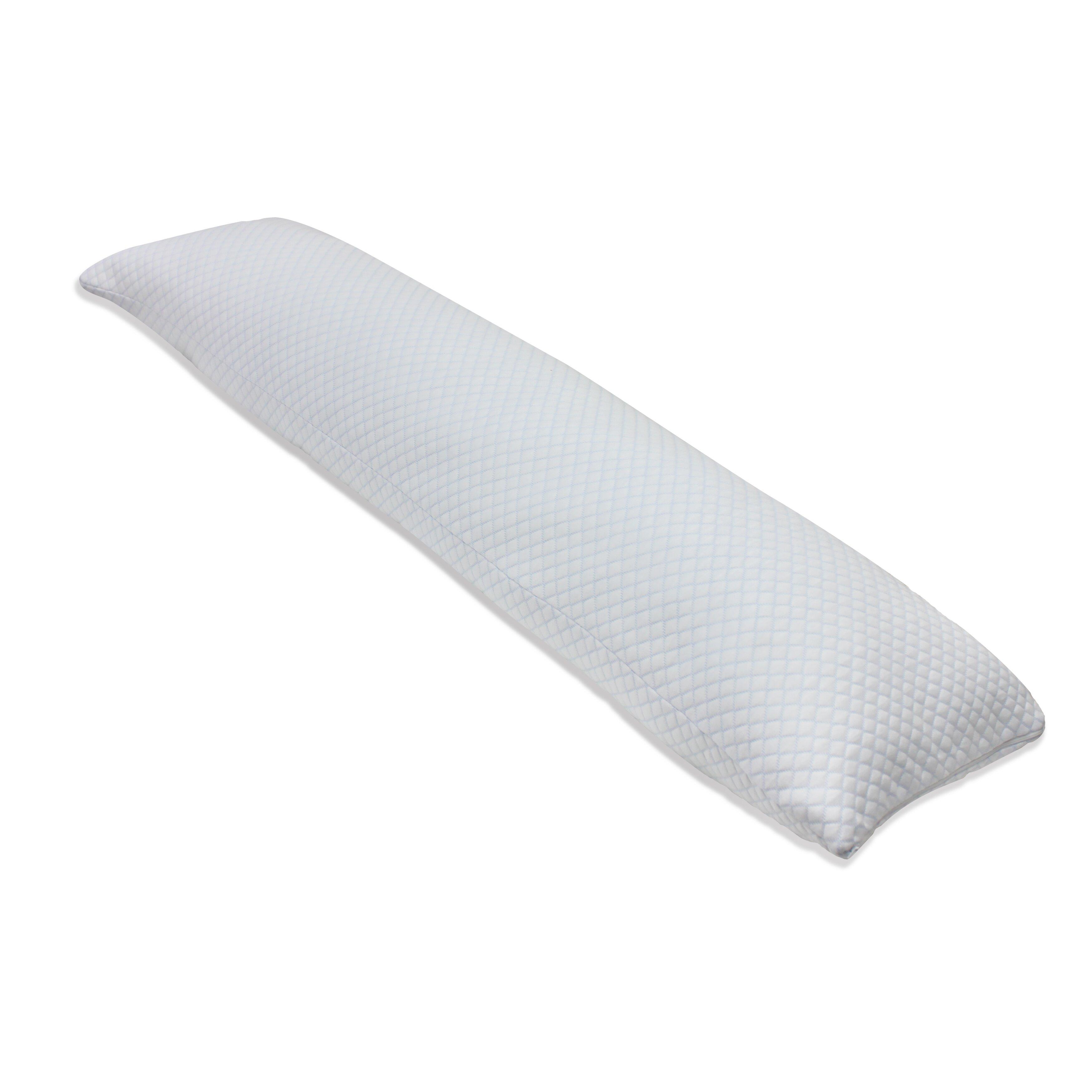 Tempure Rest Cool Gel Memory Foam Body Pillow Amp Reviews
