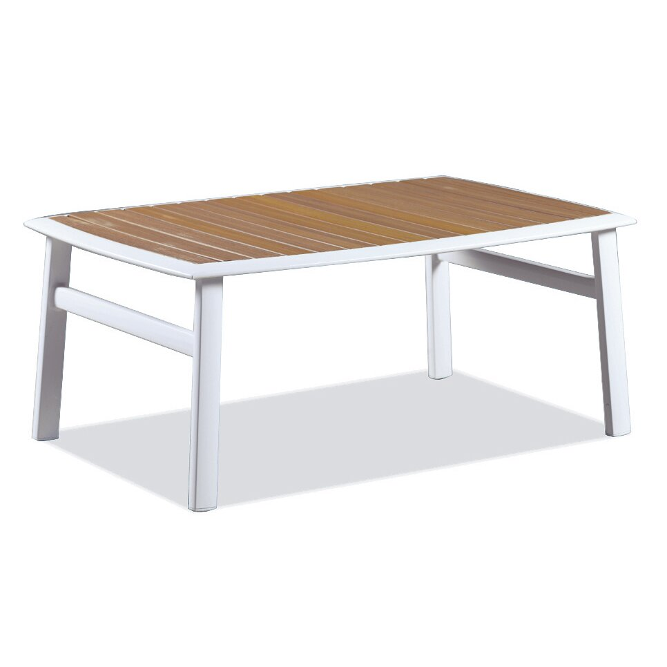 Dcor design corfu coffee table wayfair for Wayfair outdoor coffee table