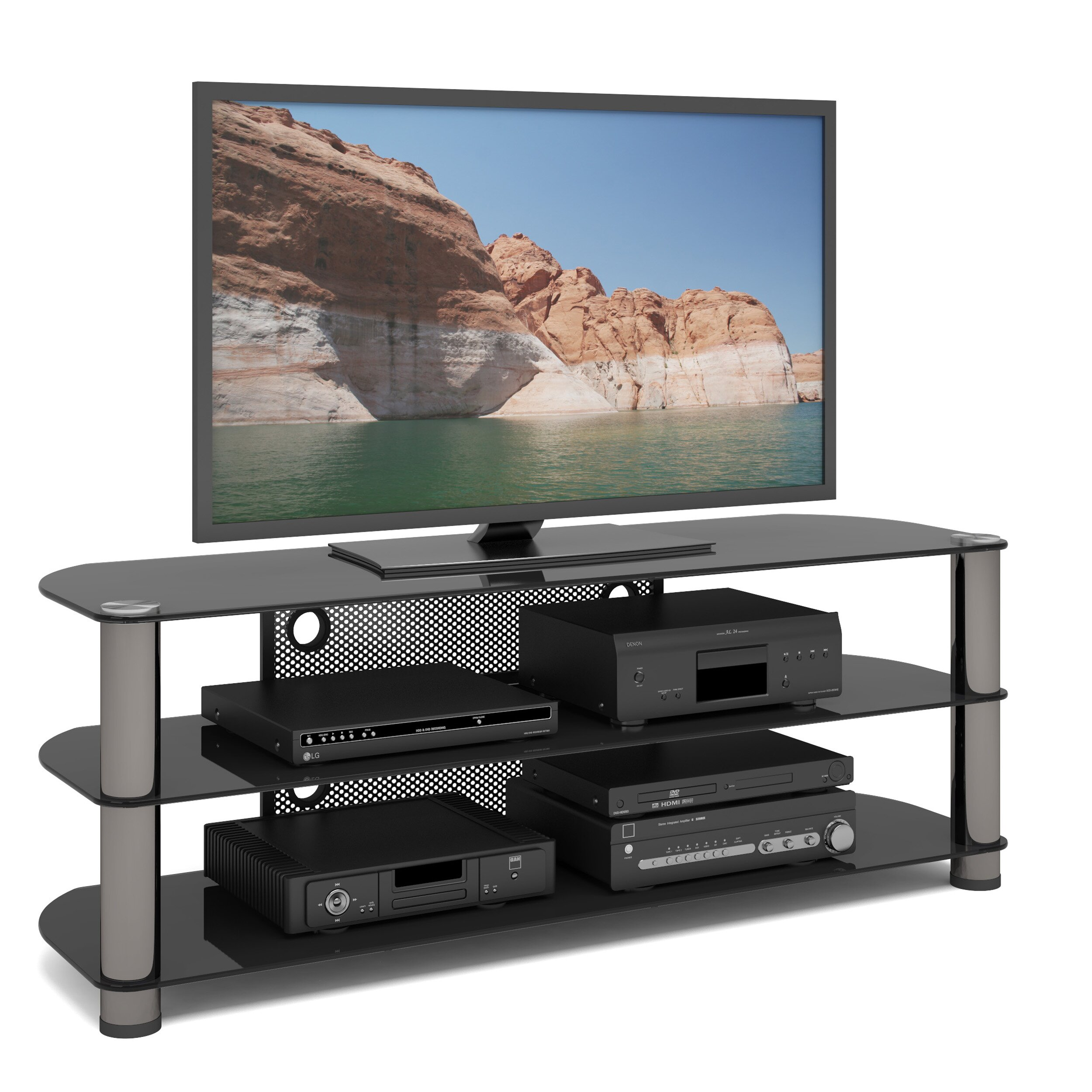 Tv Stand Designs Latest : Dcor design new york tv stand reviews wayfair