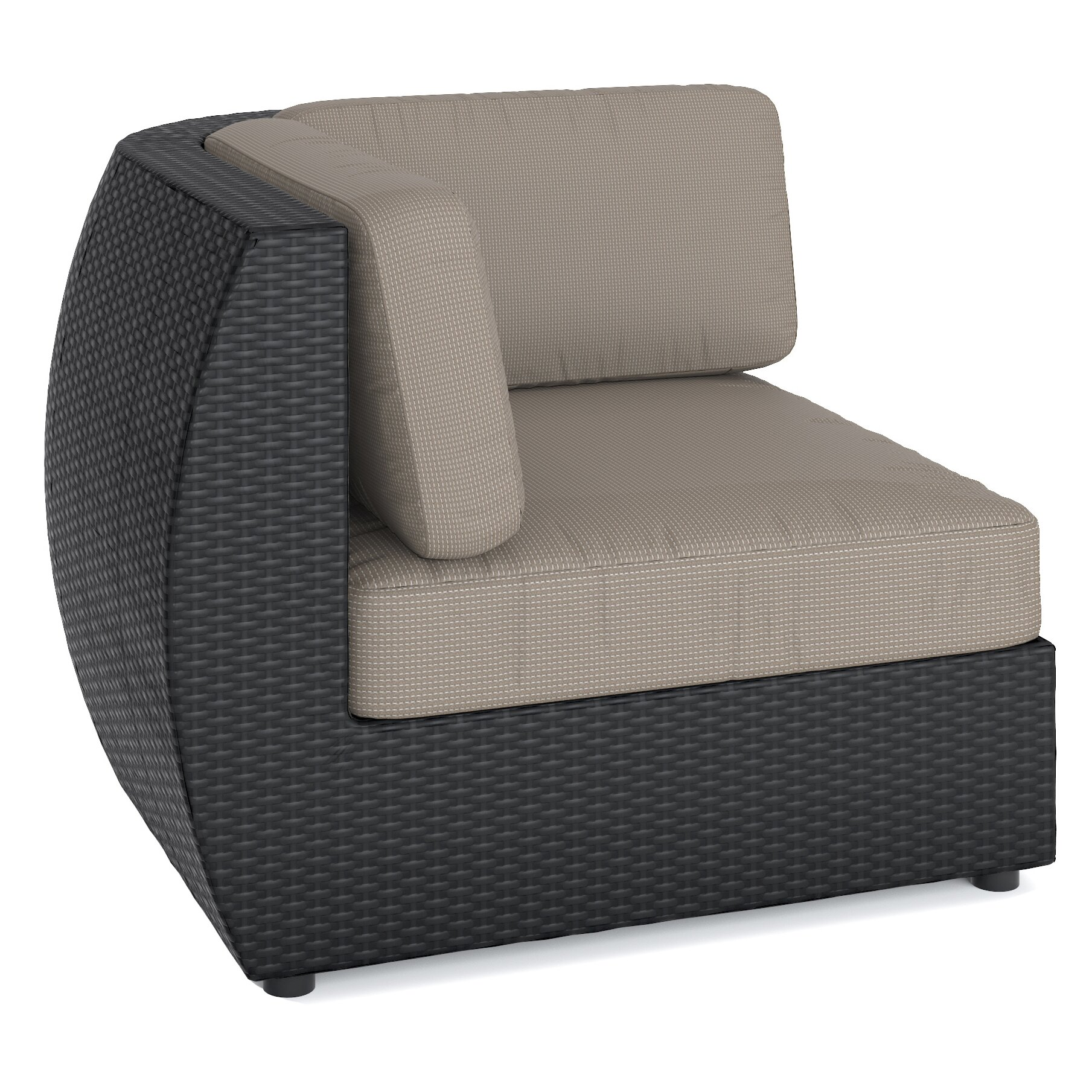 dCOR design Seattle Lounge Chair with Cushion & Reviews
