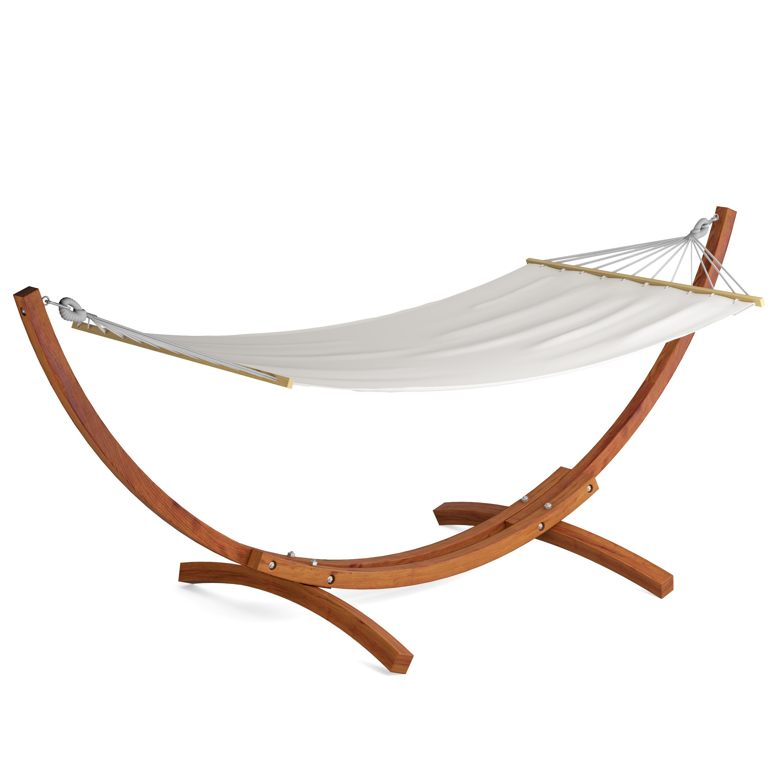 DCOR Design Wood Canyon Patio Hammock With Stand & Reviews