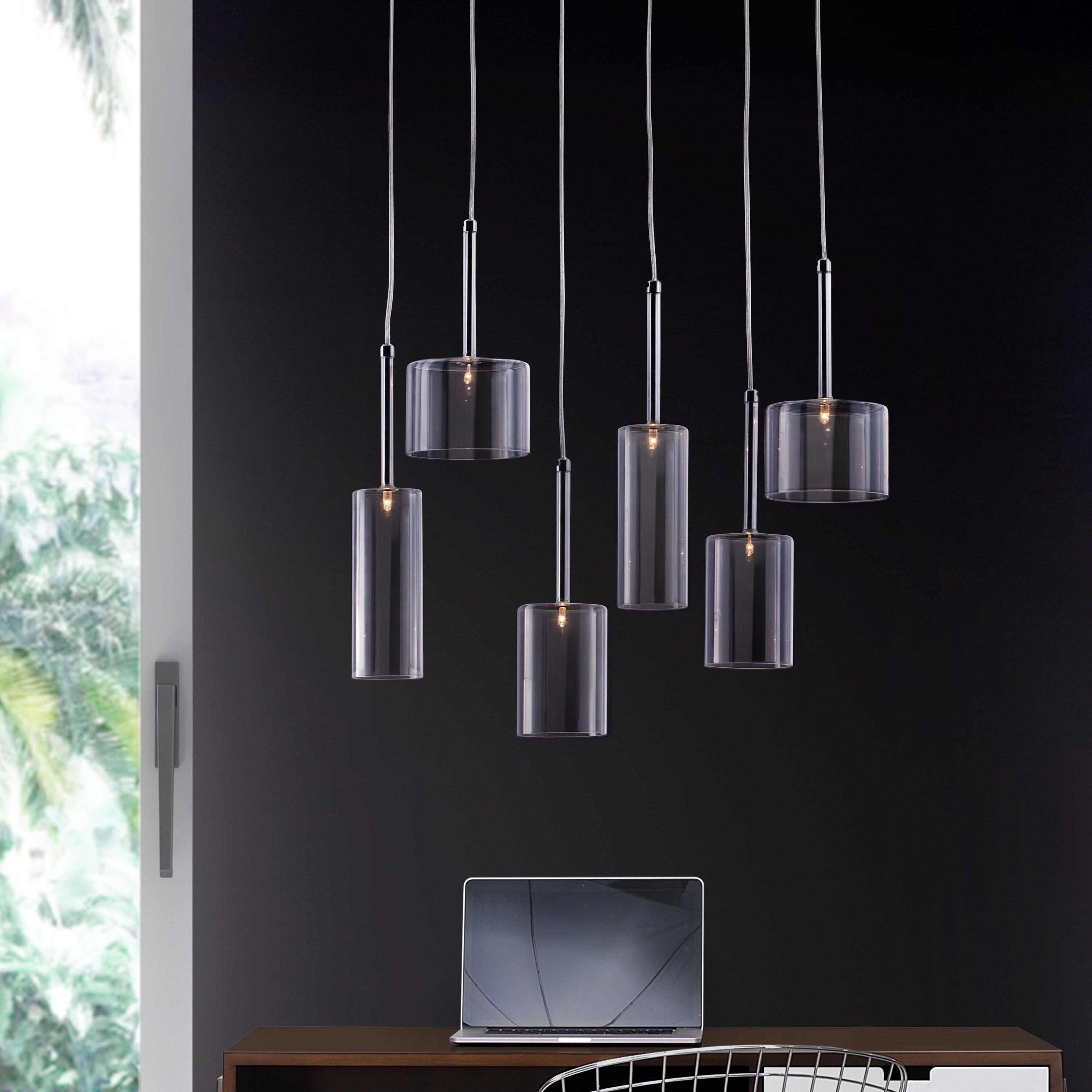 DCOR Design Hale 6 Light Cascade Pendant & Reviews