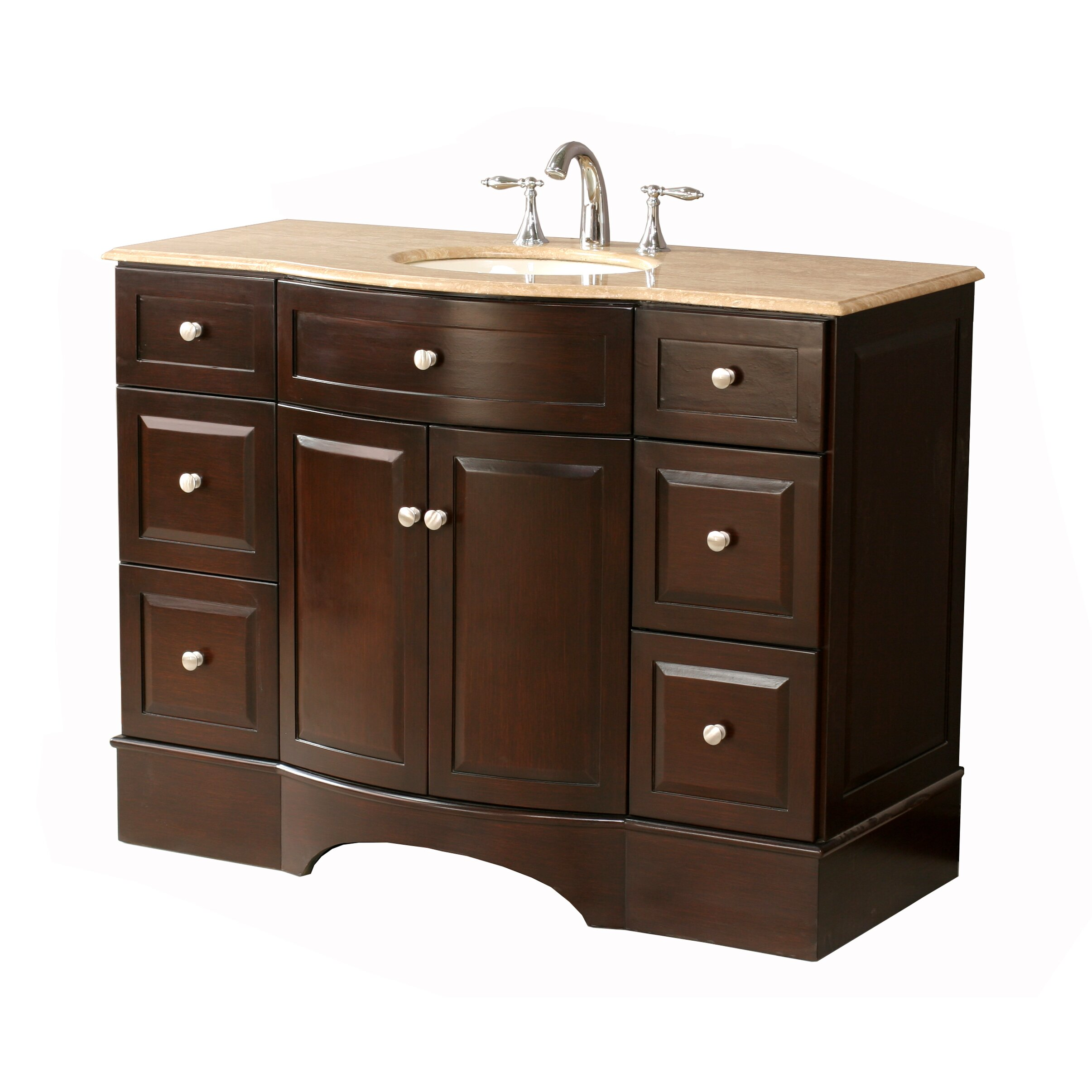 Dcor Design Dale 48 Single Bathroom Vanity Set With Mirror Reviews Wayfair