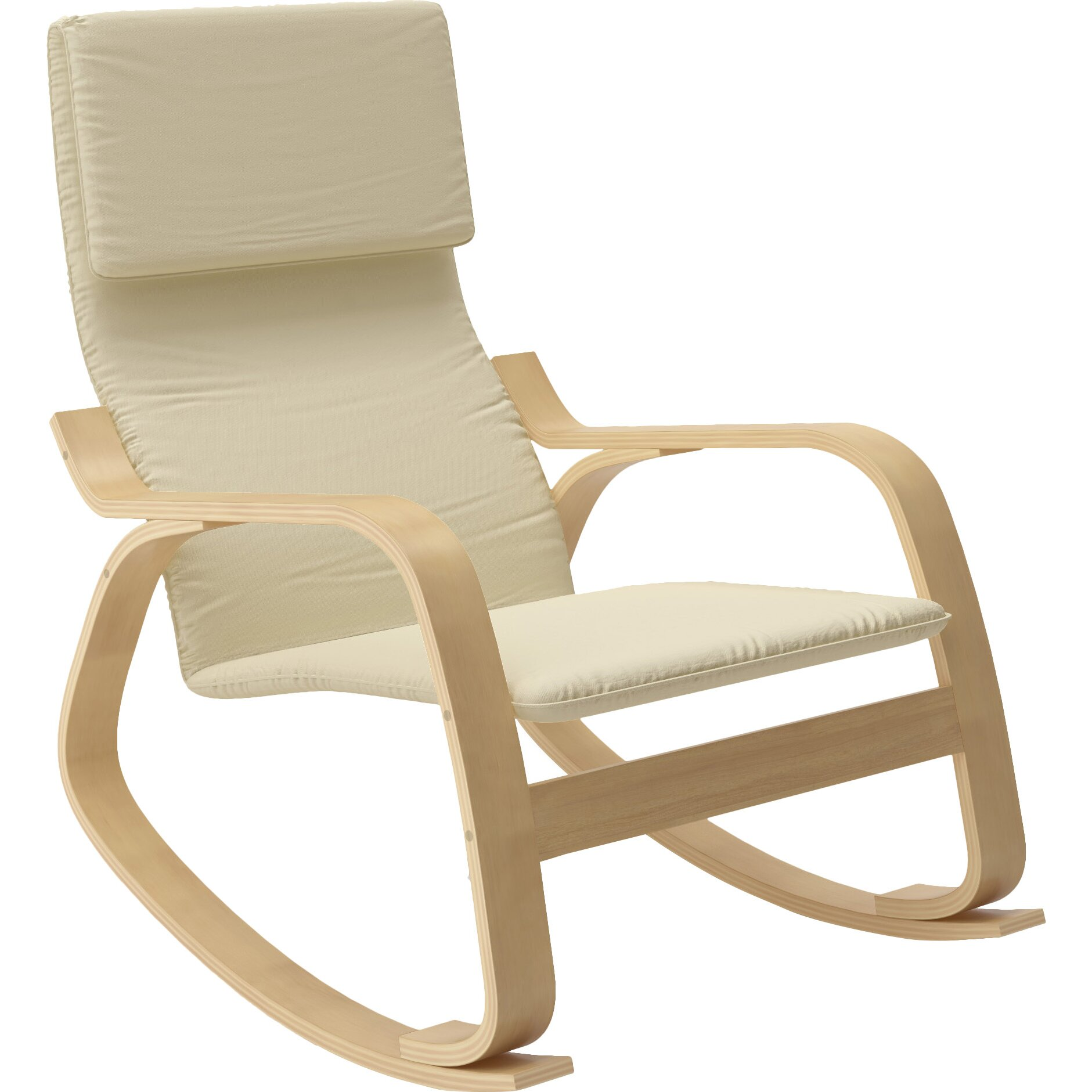 Dcor design aquios rocking chair reviews wayfair - Rocking chair but ...