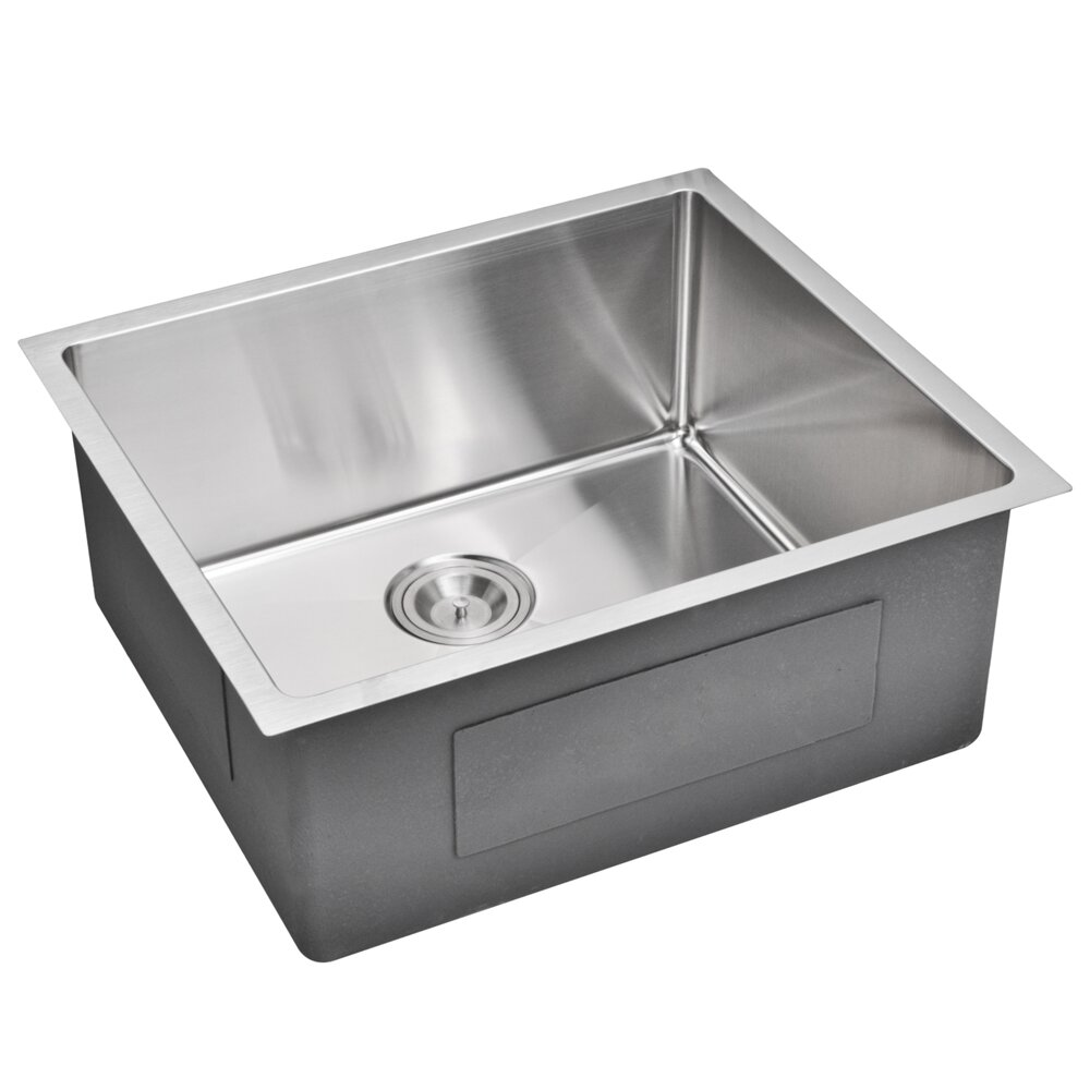 dCOR design Brier Single Bowl Kitchen Sink & Reviews