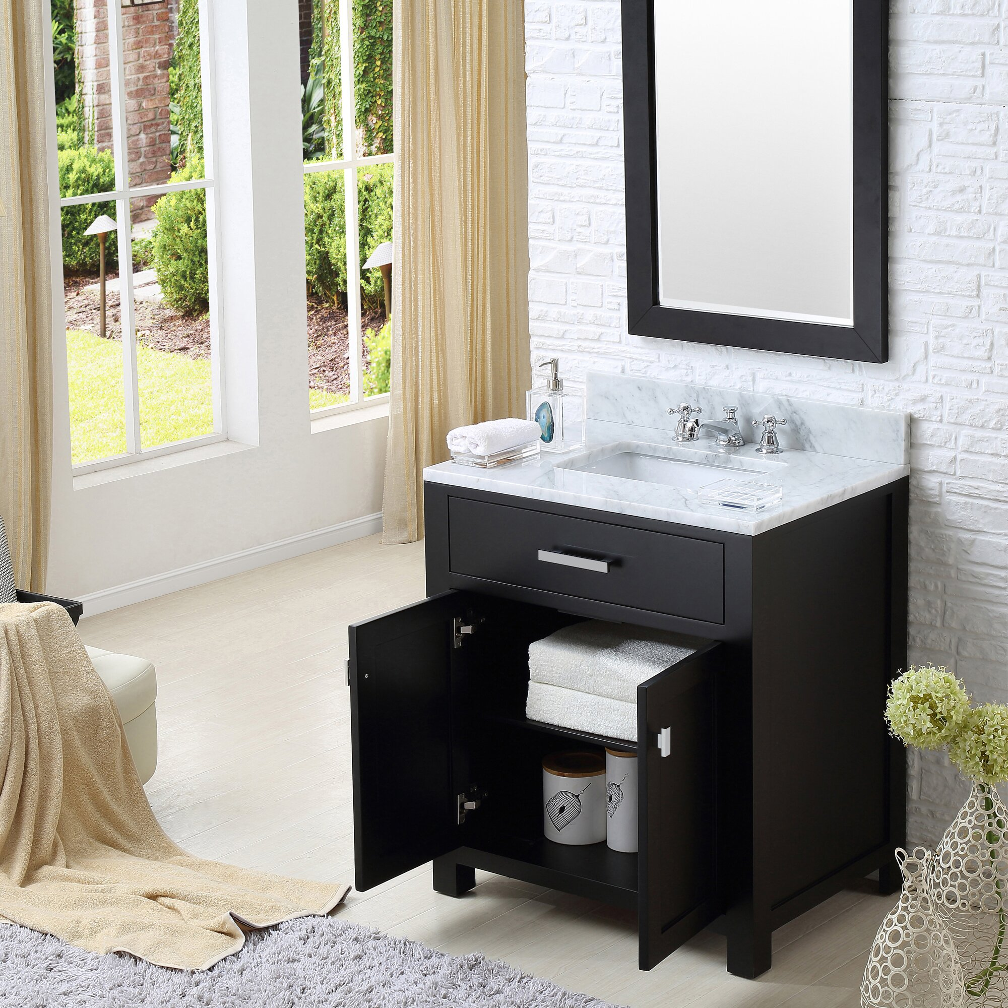 Dcor Design Creighton 30 Single Bathroom Vanity Set Reviews