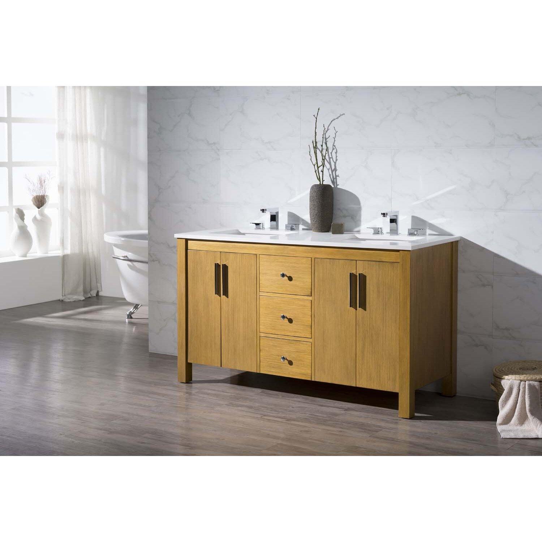 Dcor Design Cambridge 59 Double Sink Bathroom Vanity Set Reviews