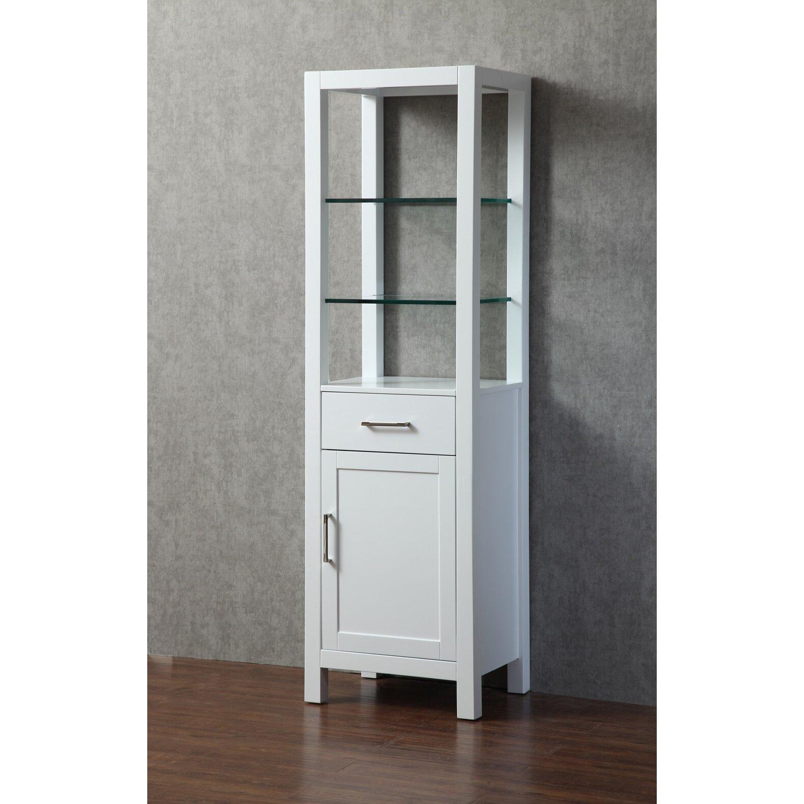 Dcor design kenya 20 w x 70 h linen tower for Bathroom design kenya