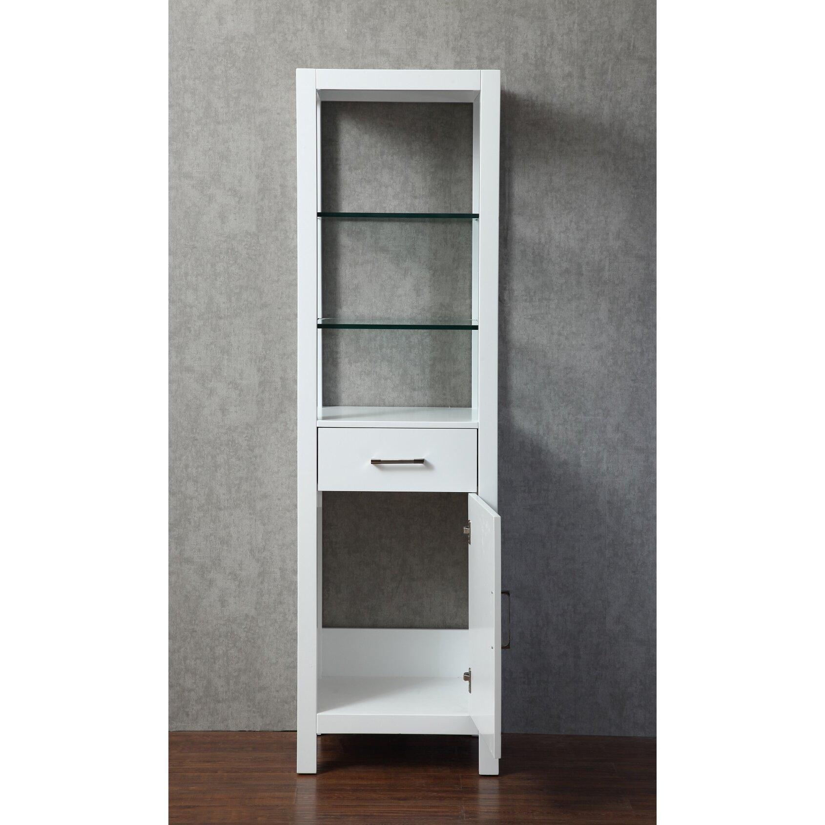 dcor design kenya 20 x 70 free standing linen cabinet