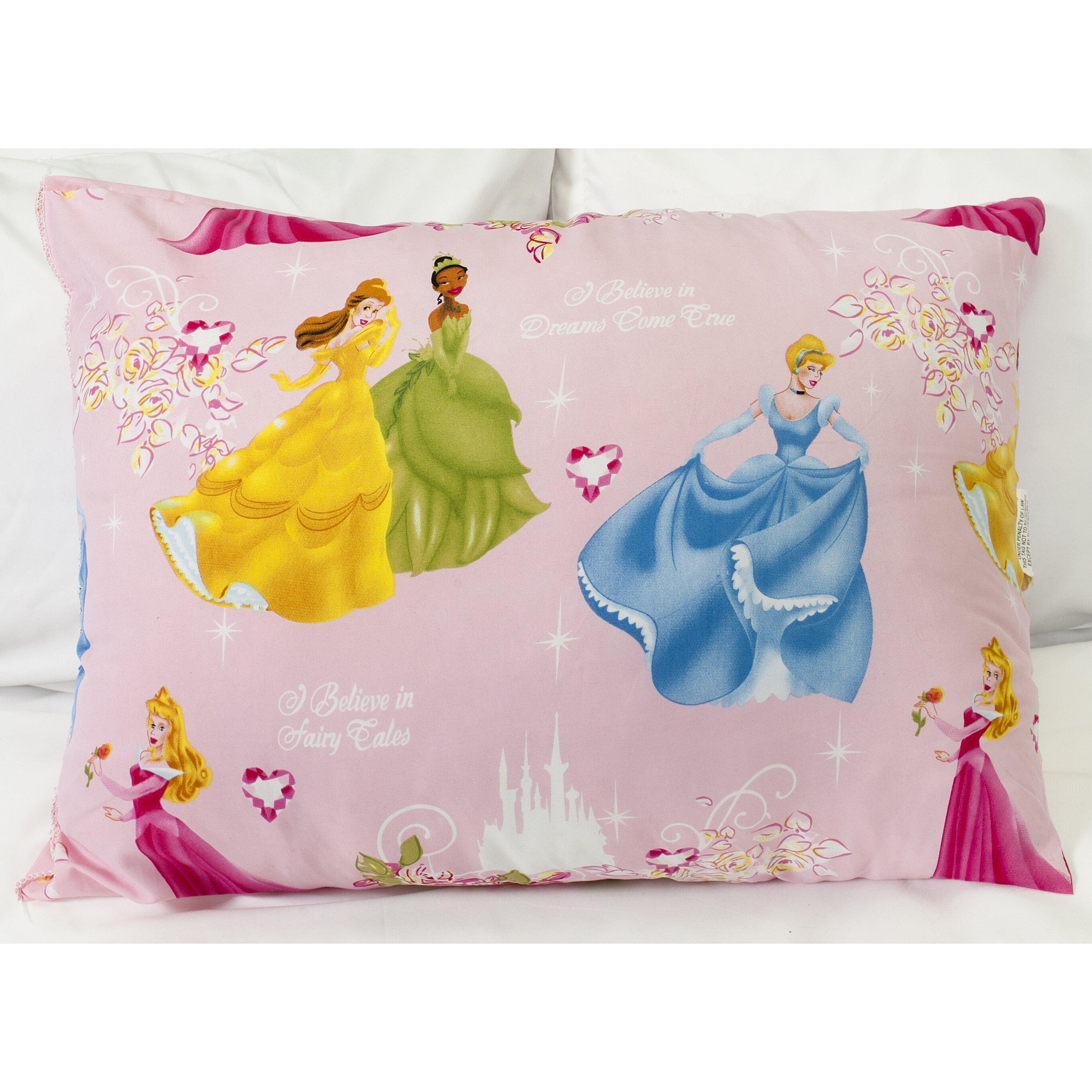 Down Alternative Decorative Pillows : Sweet Home Collection Disney Princesses Polyester Down Alternative Lumbar Pillow Wayfair
