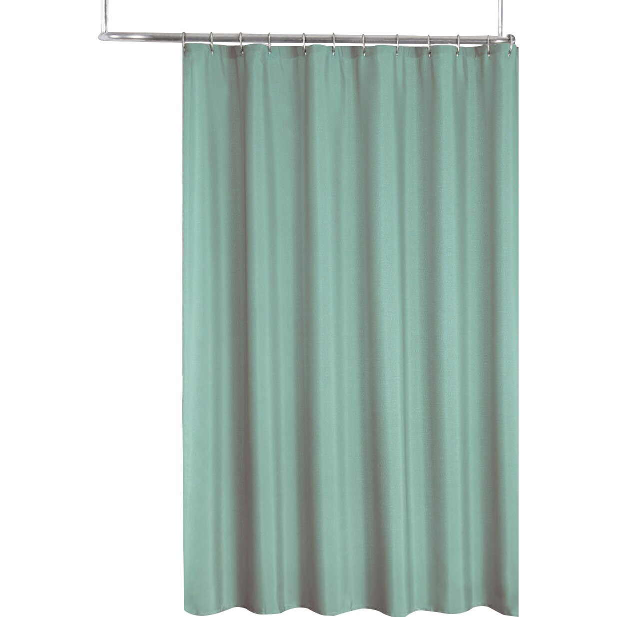 Sweet Home Collection 2 In 1 Waterproof Shower Curtain Reviews Wayfair