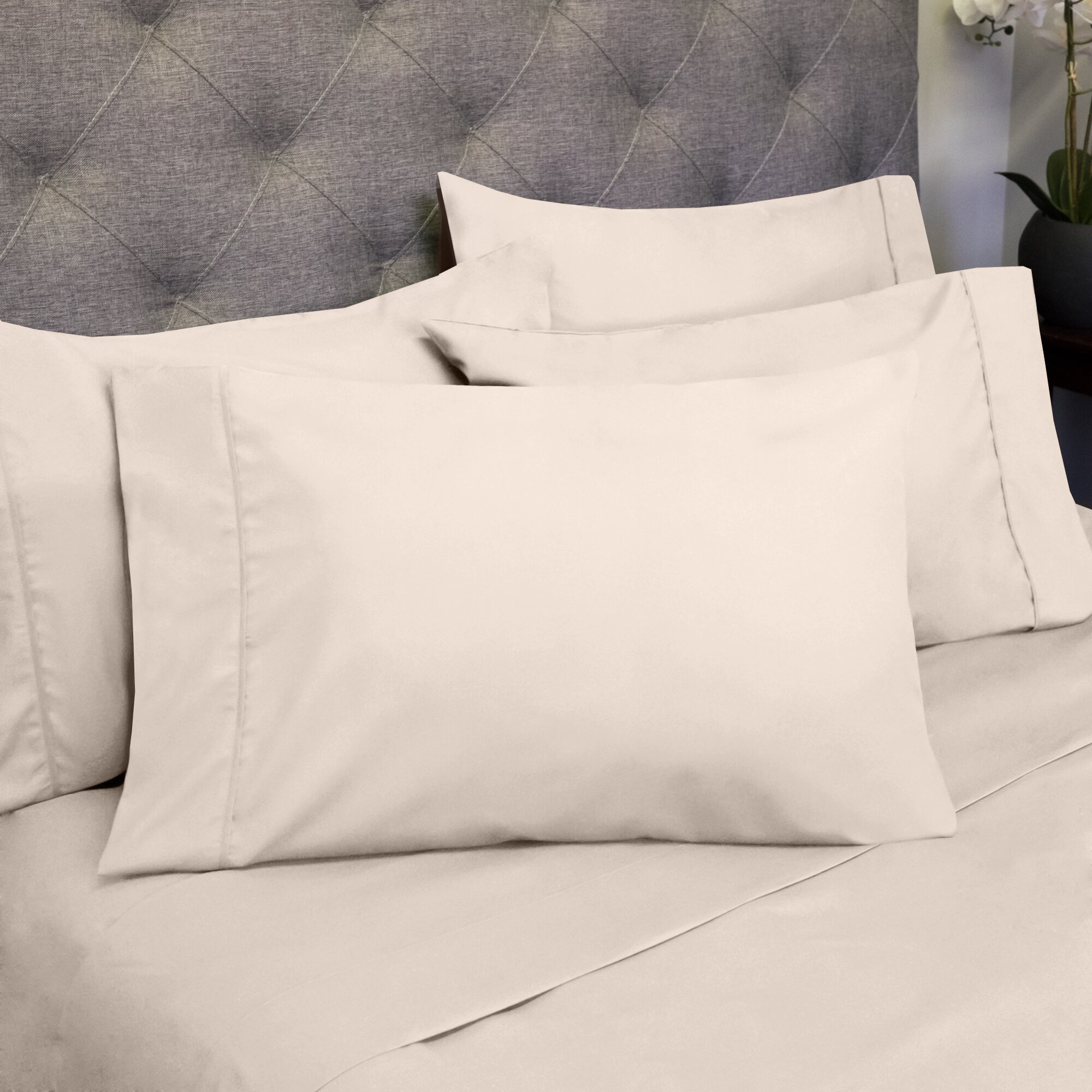 Sweet Home Collection 1800 Count Bedroom Sheet Set ...