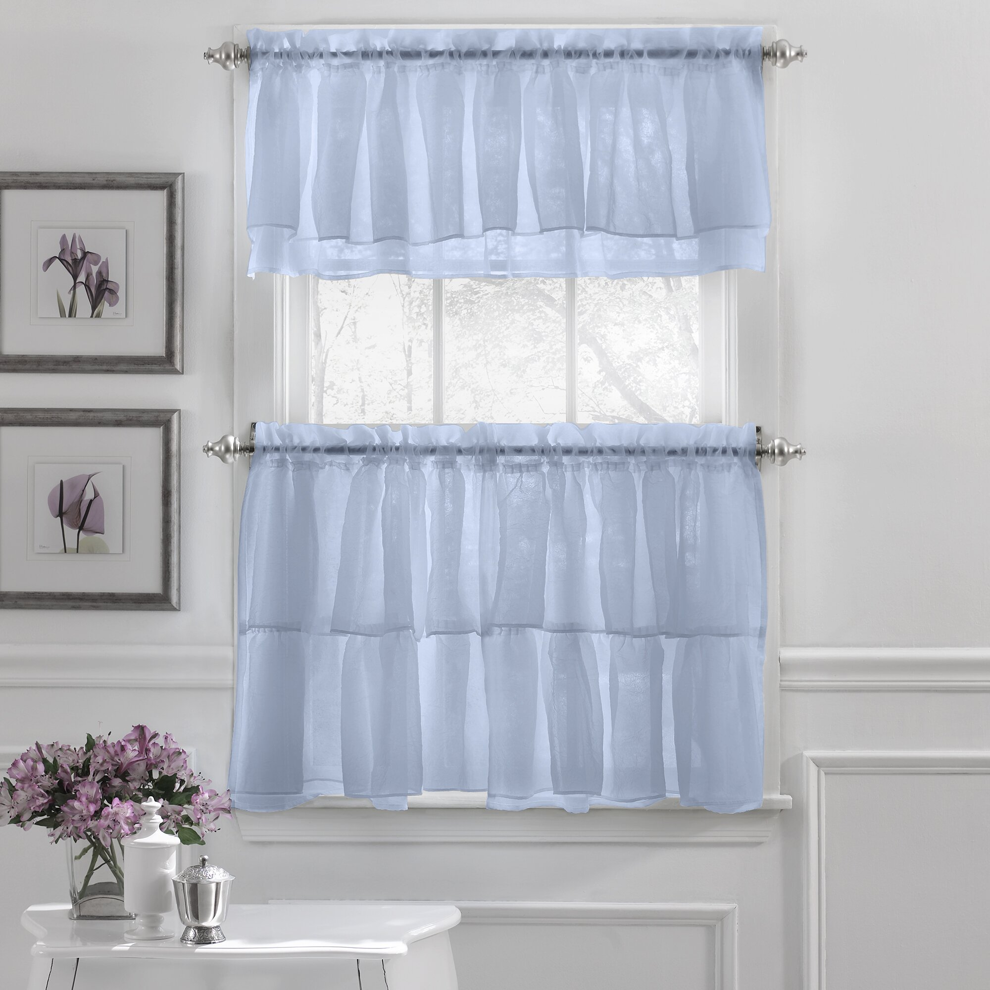 Elegant Kitchen Curtains Valances