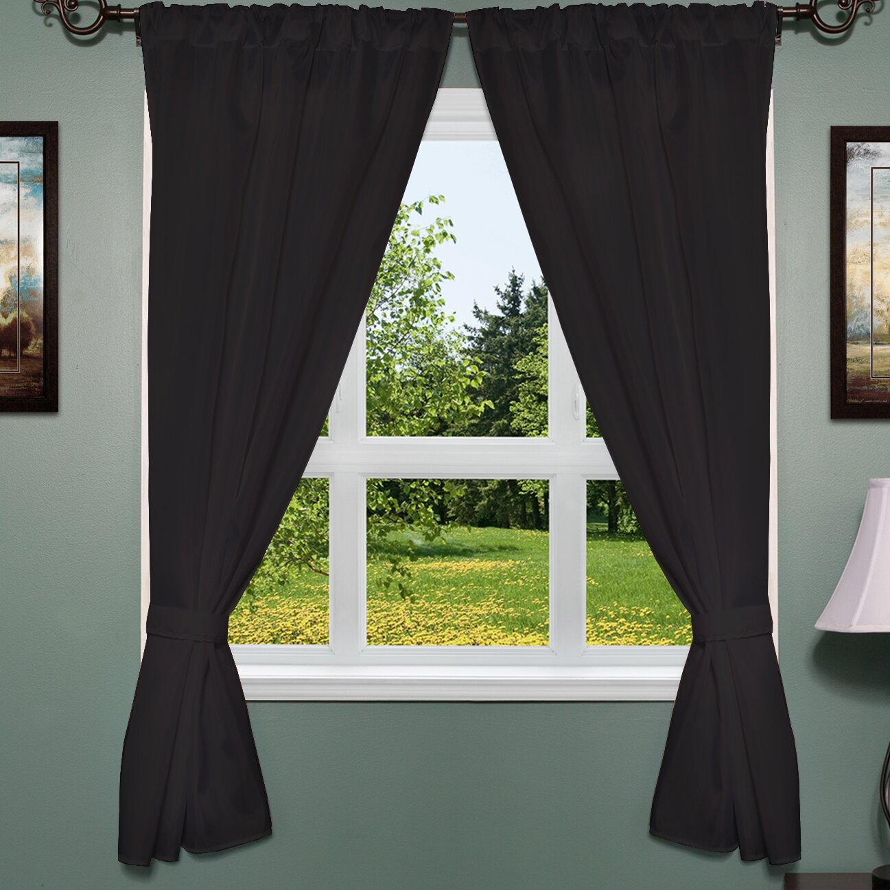 Sweet home collection classic thermal window treatment set for Thermal windows reviews