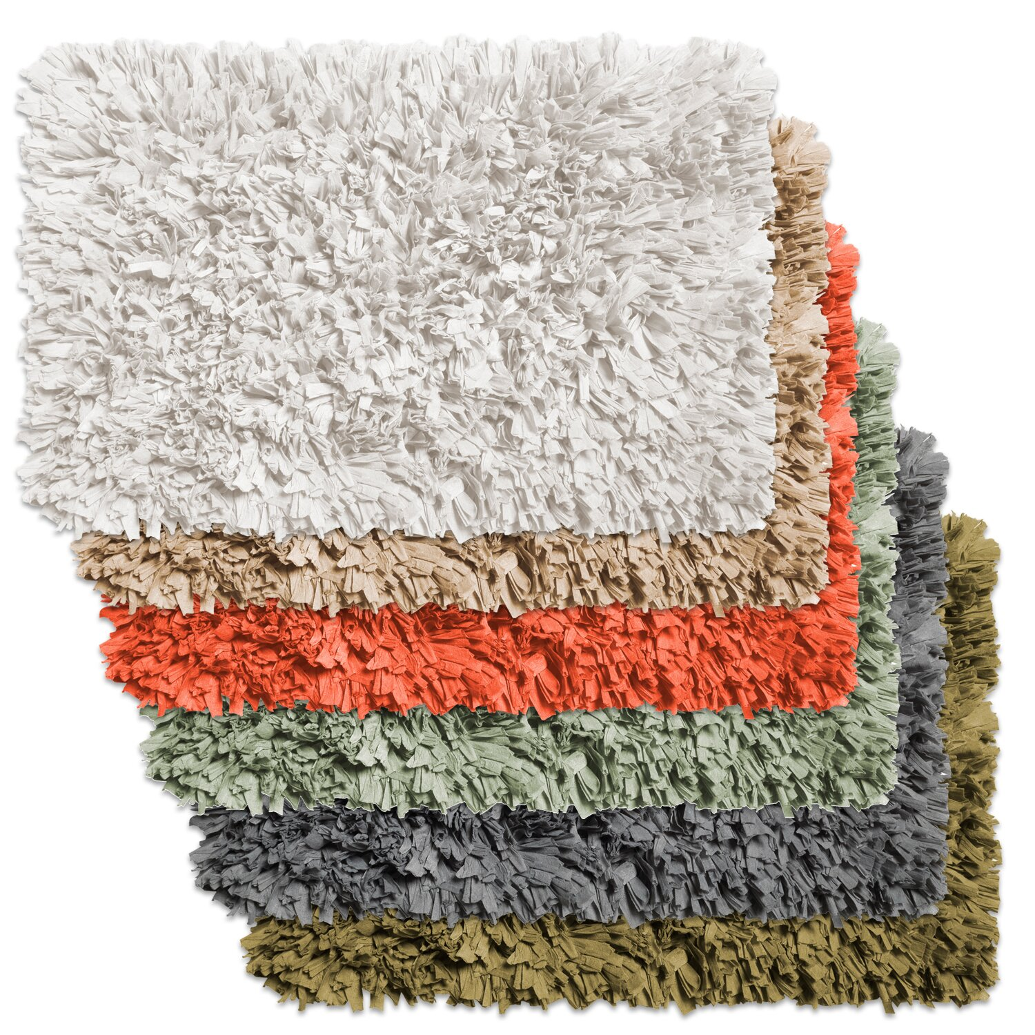 Bathroom shag rug