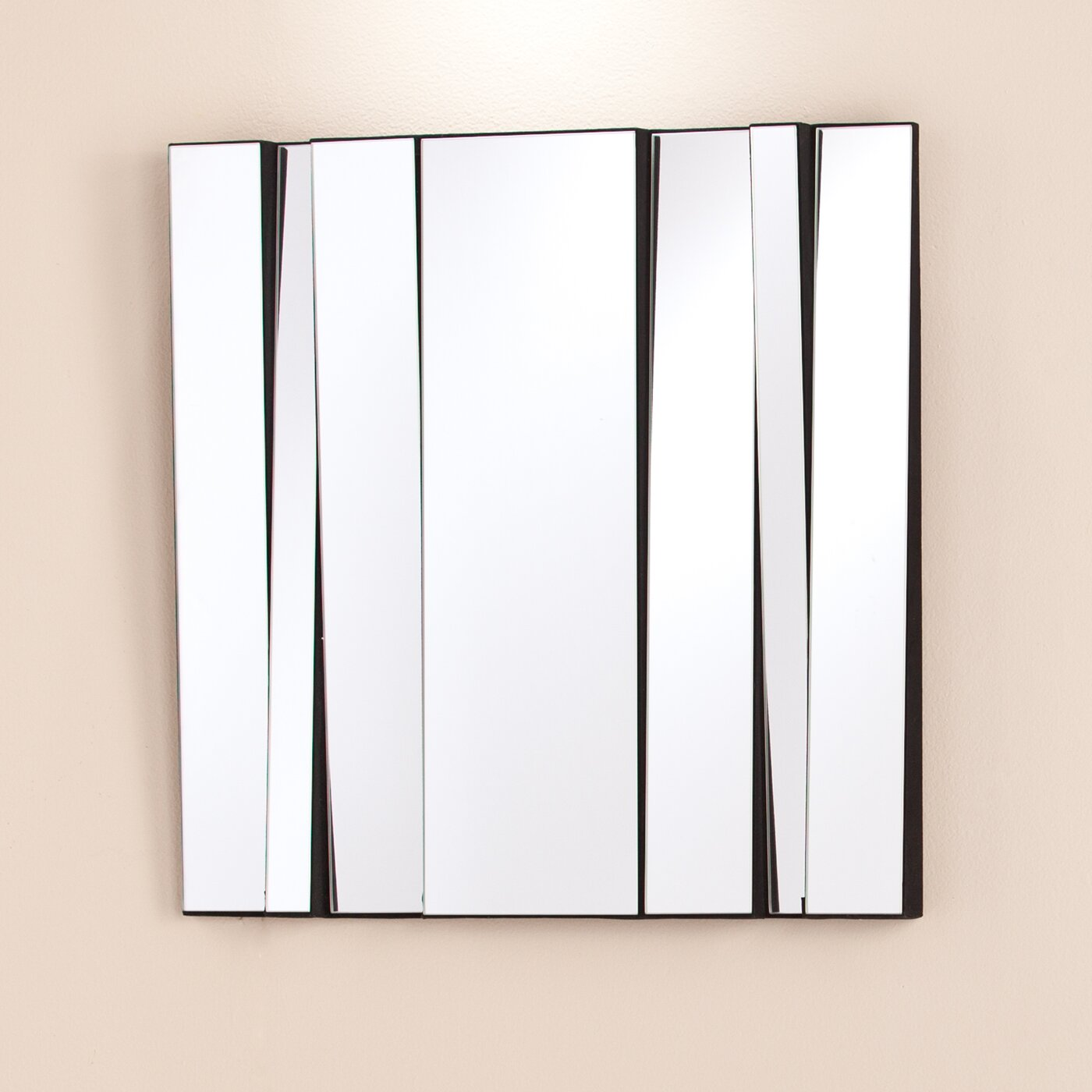 Mercury row decorative paneled mirror reviews wayfair for Decorative mirrors