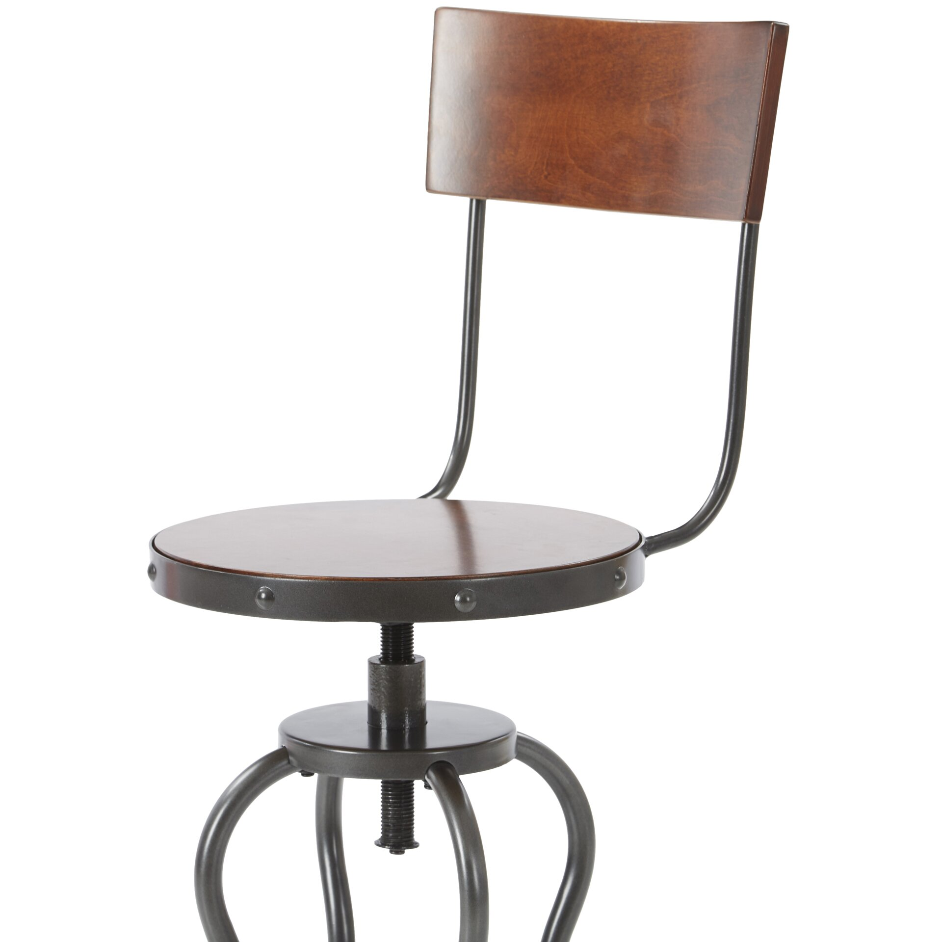 Mercury Row Antria Swivel Bar Height Stool Amp Reviews Wayfair