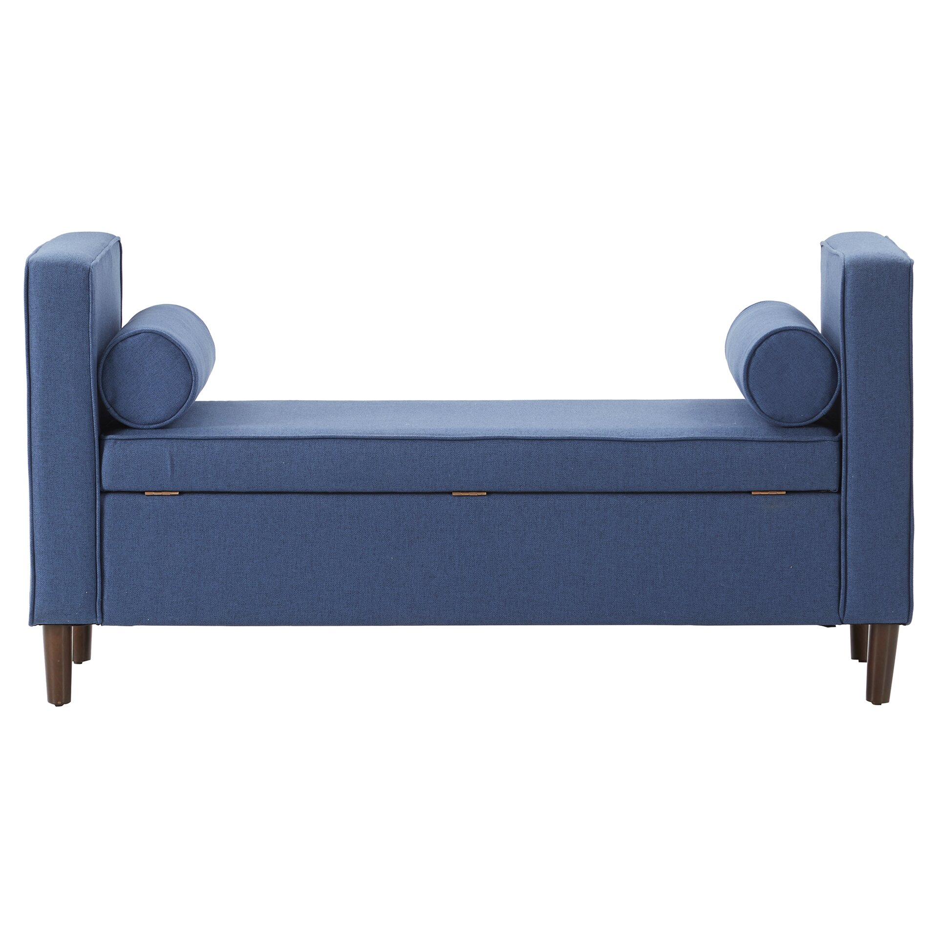 Mercury Row Rimo Upholstered Storage Bench Reviews Wayfair