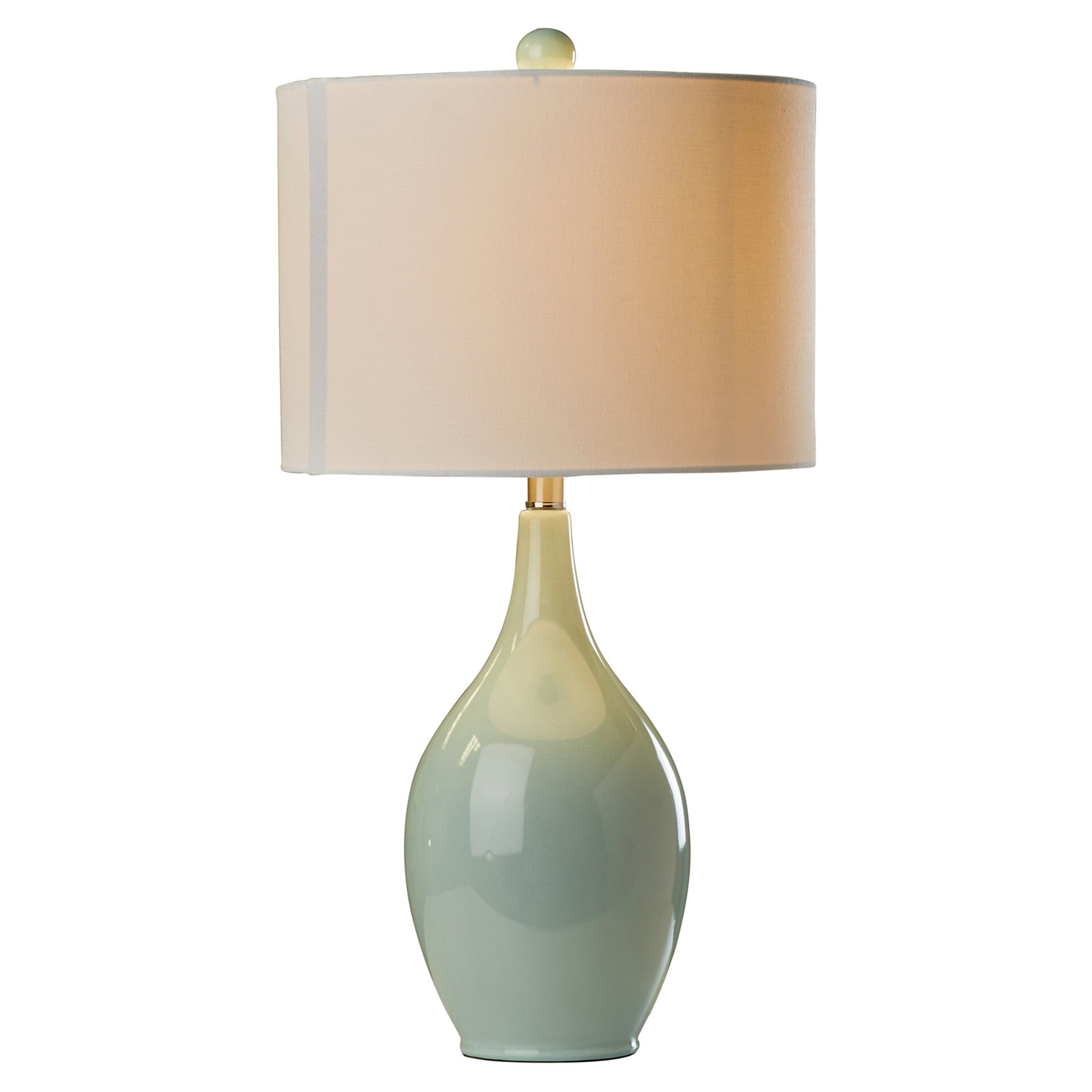Mercury Row Abner 27 Quot H Table Lamp With Drum Shade