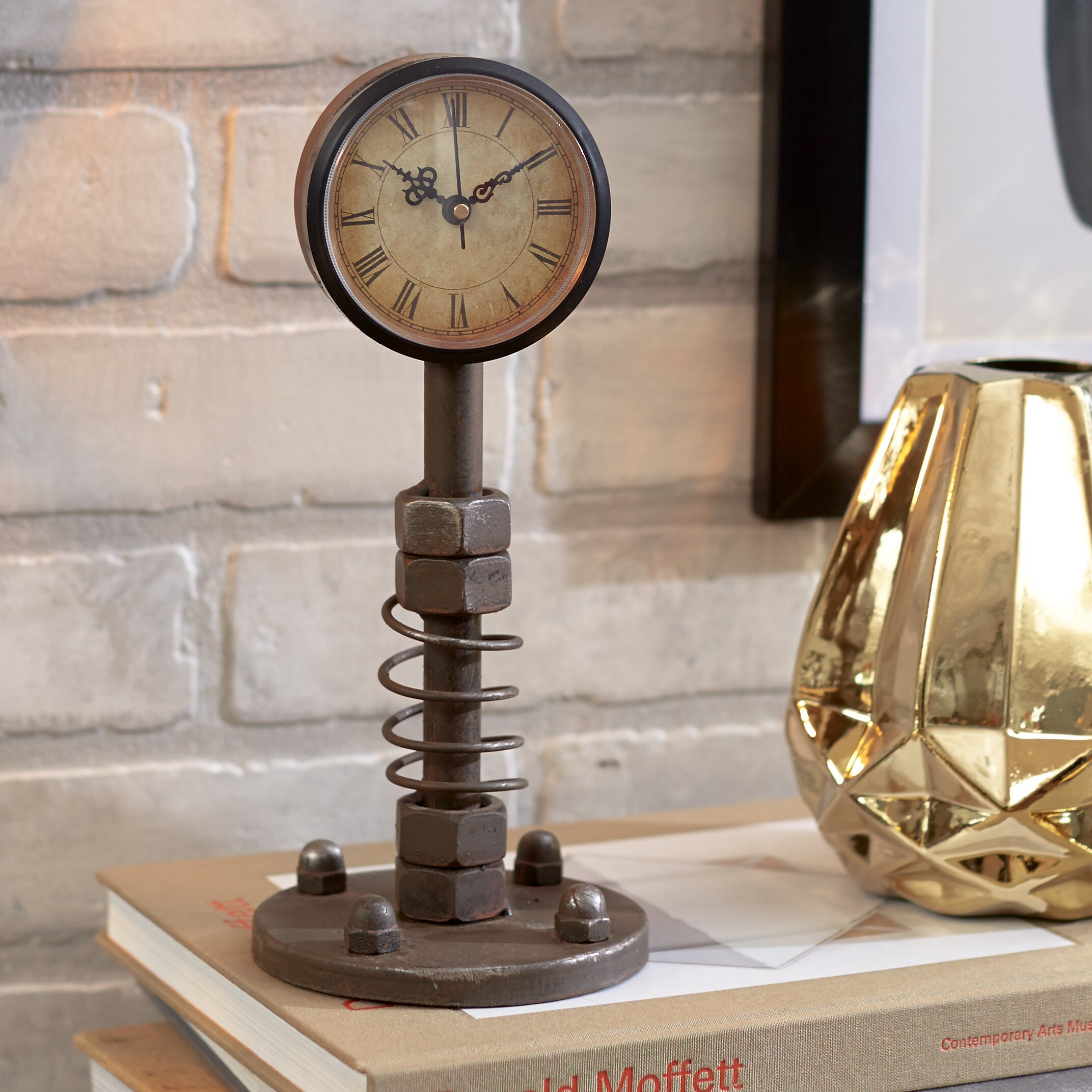 Mercury Row Hektor 10 Table Clock Reviews Wayfair