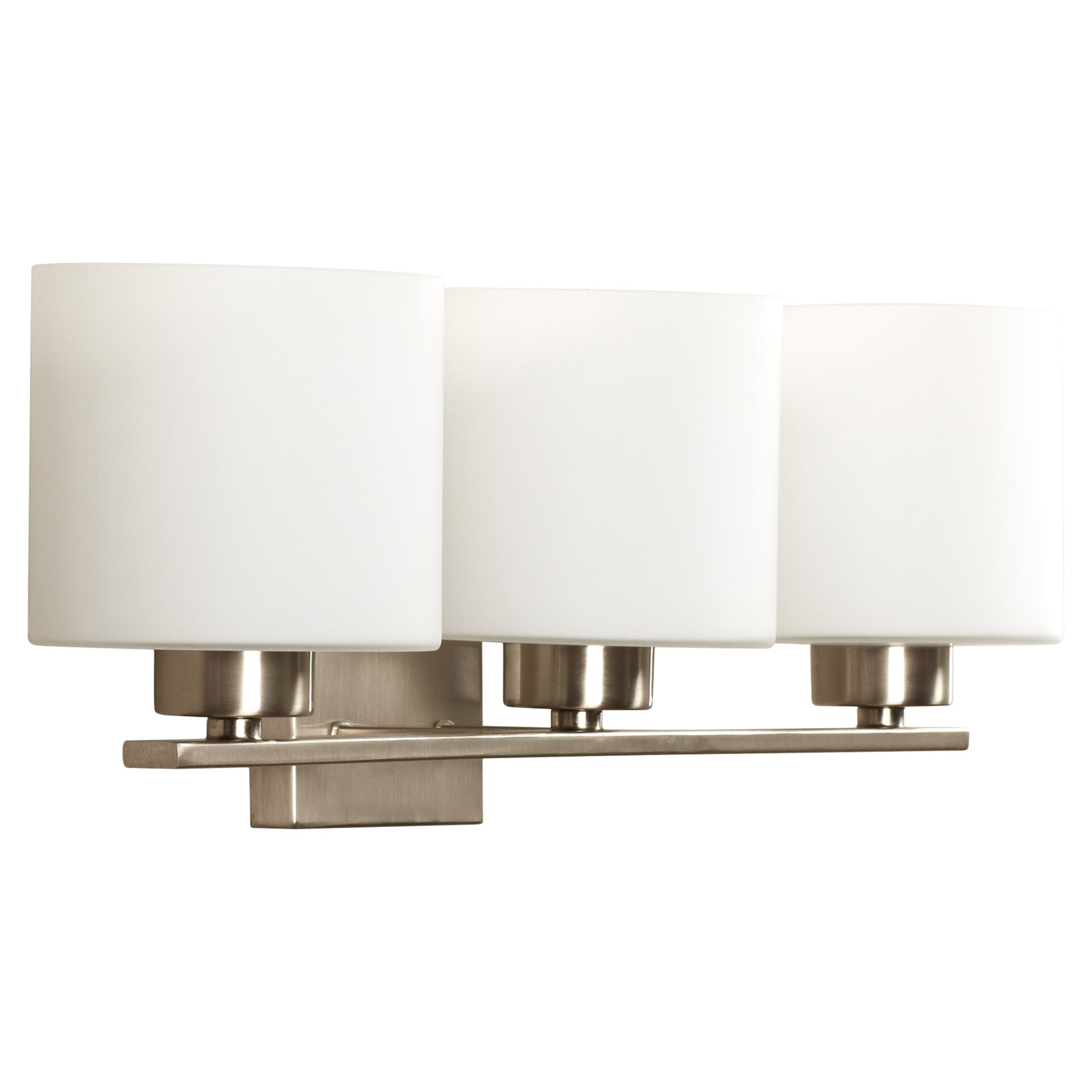 Vanity Wall Lights : Mercury Row Odom 3 Light Vanity Light & Reviews Wayfair