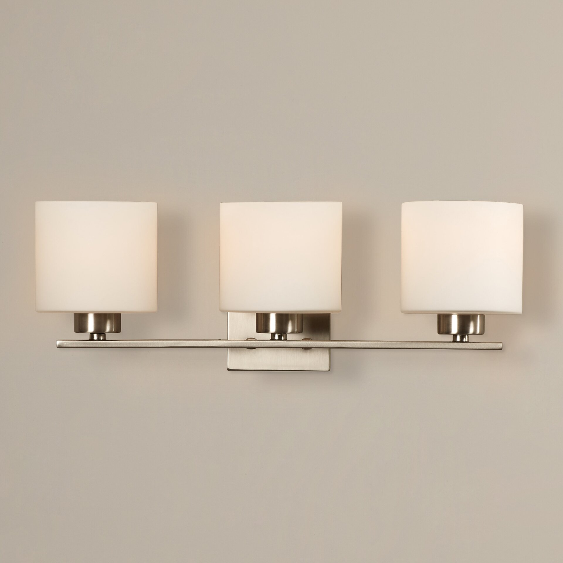 Bathroom Wall Vanity Lights : Mercury Row Odom 3 Light Bath Vanity Light & Reviews Wayfair