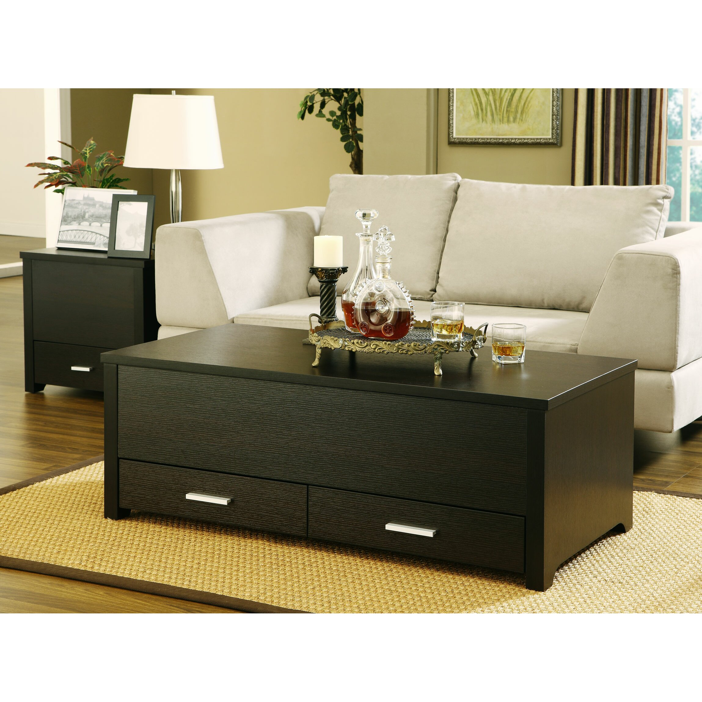 Mercury Row Coffee Table Set Reviews Wayfair