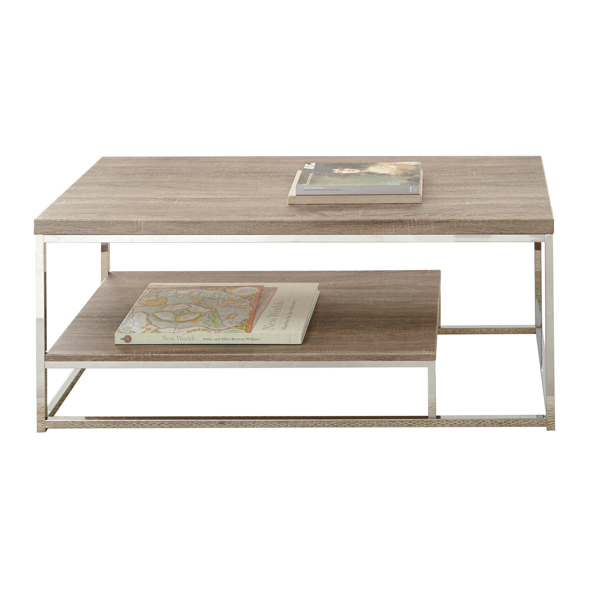 Mercury row corona coffee table reviews One of a kind coffee tables