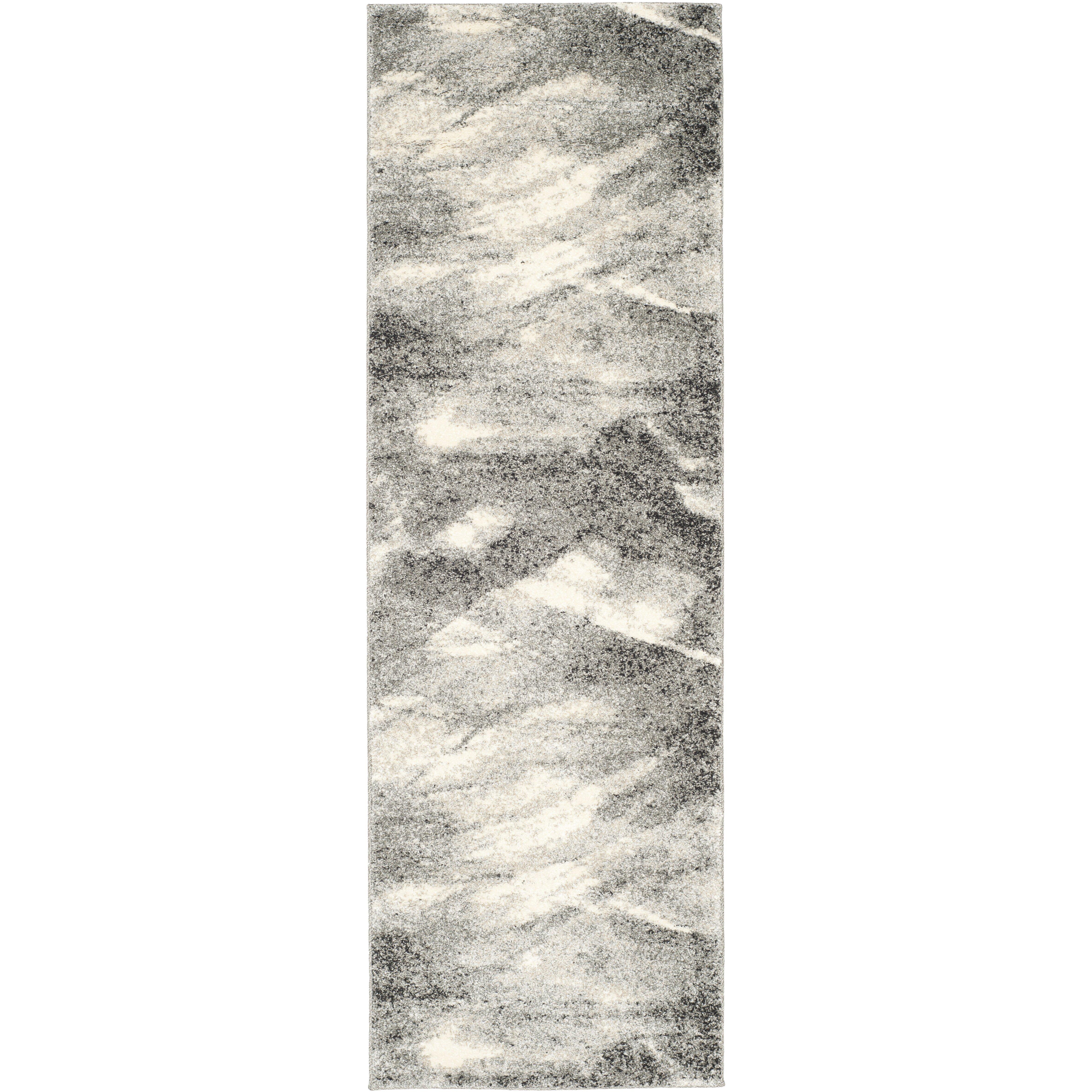 Mercury Row Vulpecula Gray And Ivory Area Rug Amp Reviews